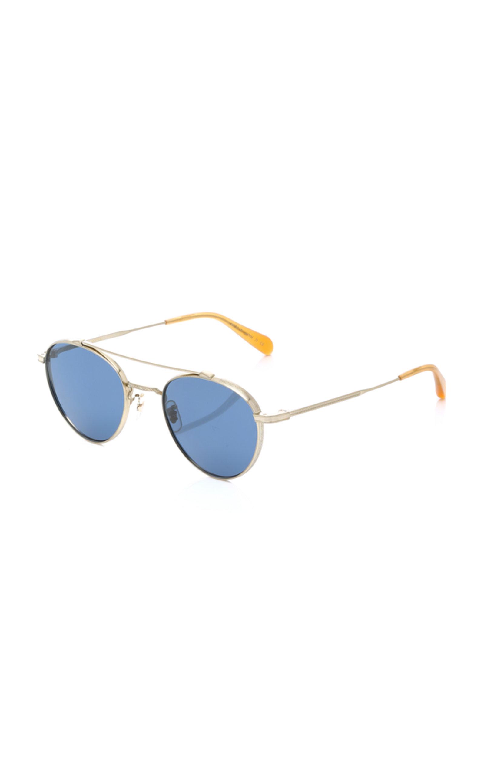 3dd5c4989e174 Oliver PeoplesWatts Round Aviator Sunglasses. CLOSE. Loading. Loading