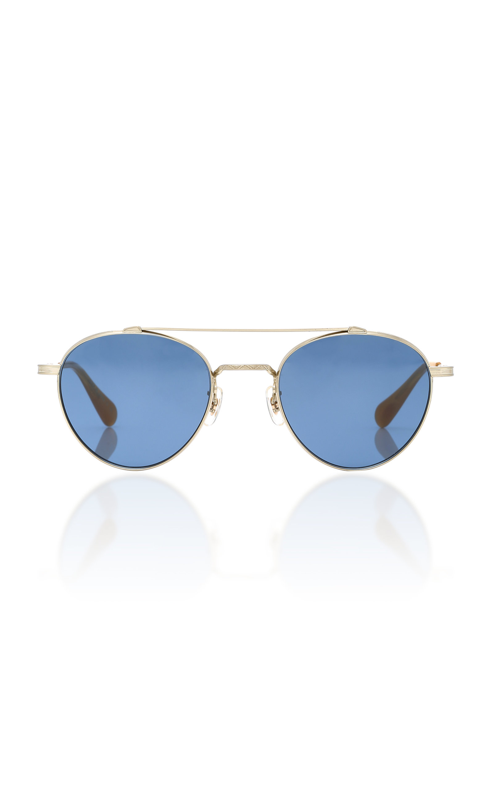 e247e31d6accc Oliver PeoplesWatts Round Aviator Sunglasses. CLOSE. Loading