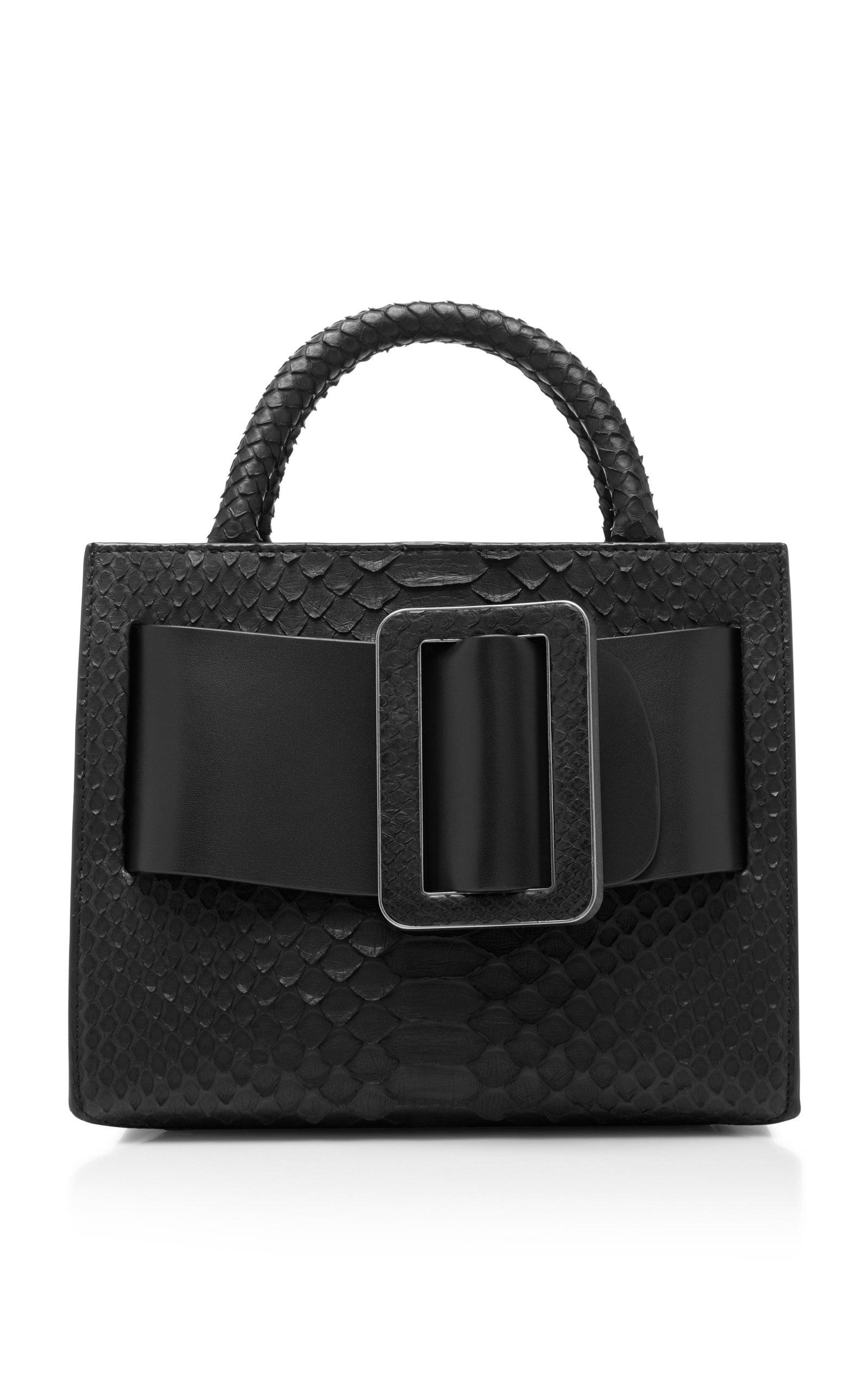 Bobby 23 Python Top Handle Bag by Boyy