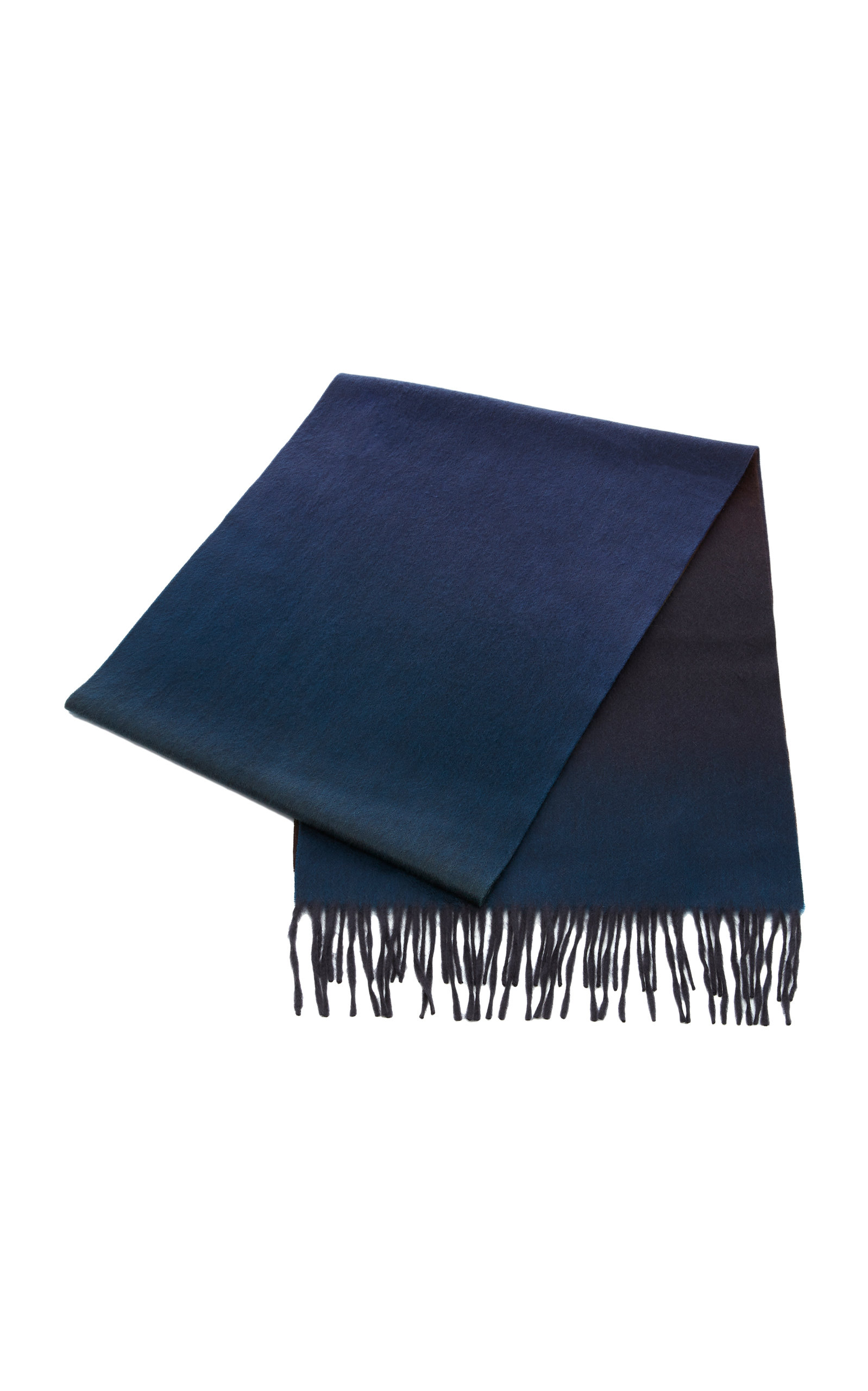 BEGG & CO LARGE REVERSIBLE CASHMERE SCARF