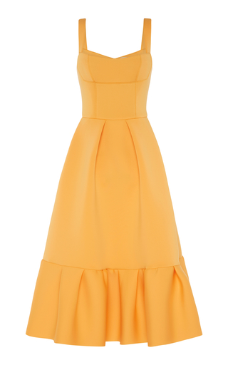Cora Frill Hem Dress By Rachel Gilbert Moda Operandi