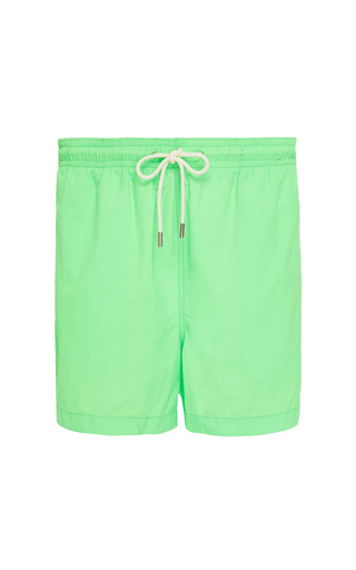 SOLID & STRIPED   Solid & Striped The Classic Solid Swim Trunks   Goxip