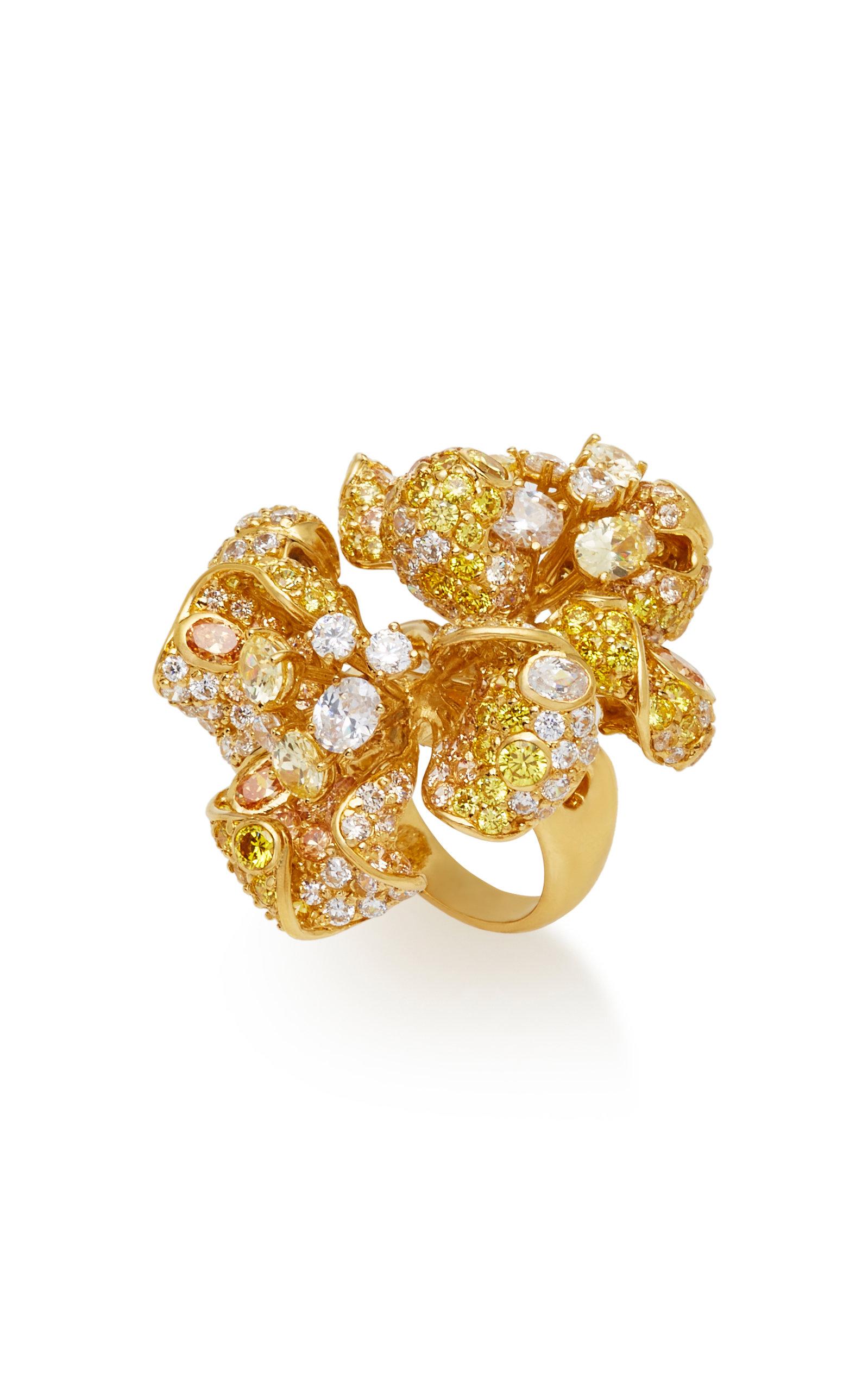 Bloomingdale 18K Gold Diamond Ring Anabela Chan mPkvcbI