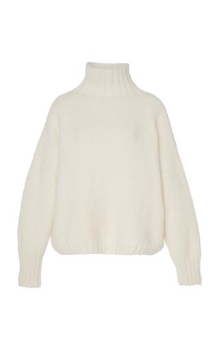 TUINCH | Tuinch Exclusive Appliquéd Cashmere Turtleneck Sweater | Goxip