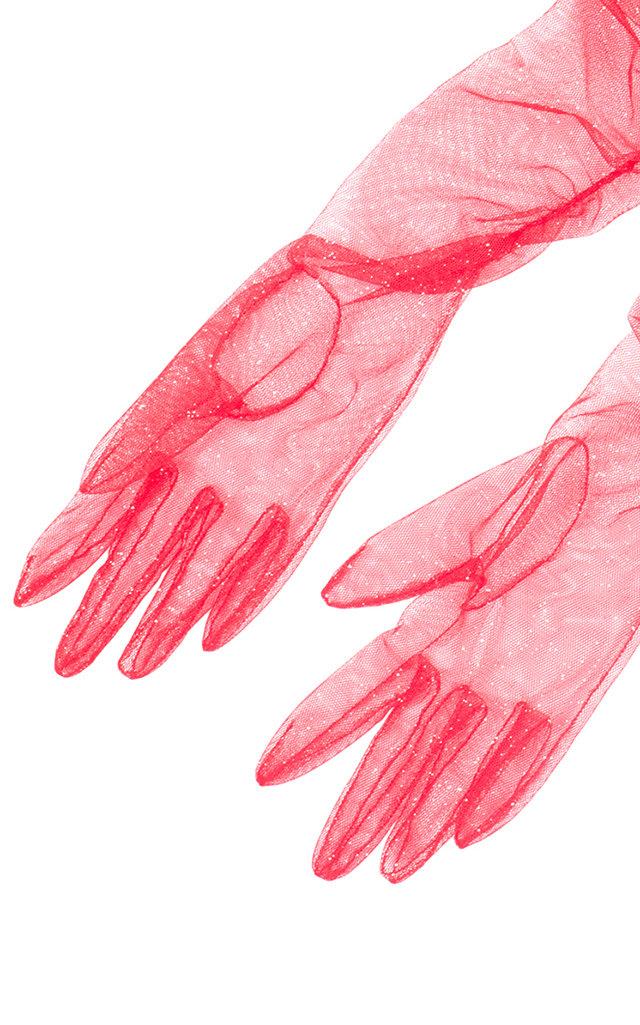 Long Arm Gloves by Rasario   Moda Operandi
