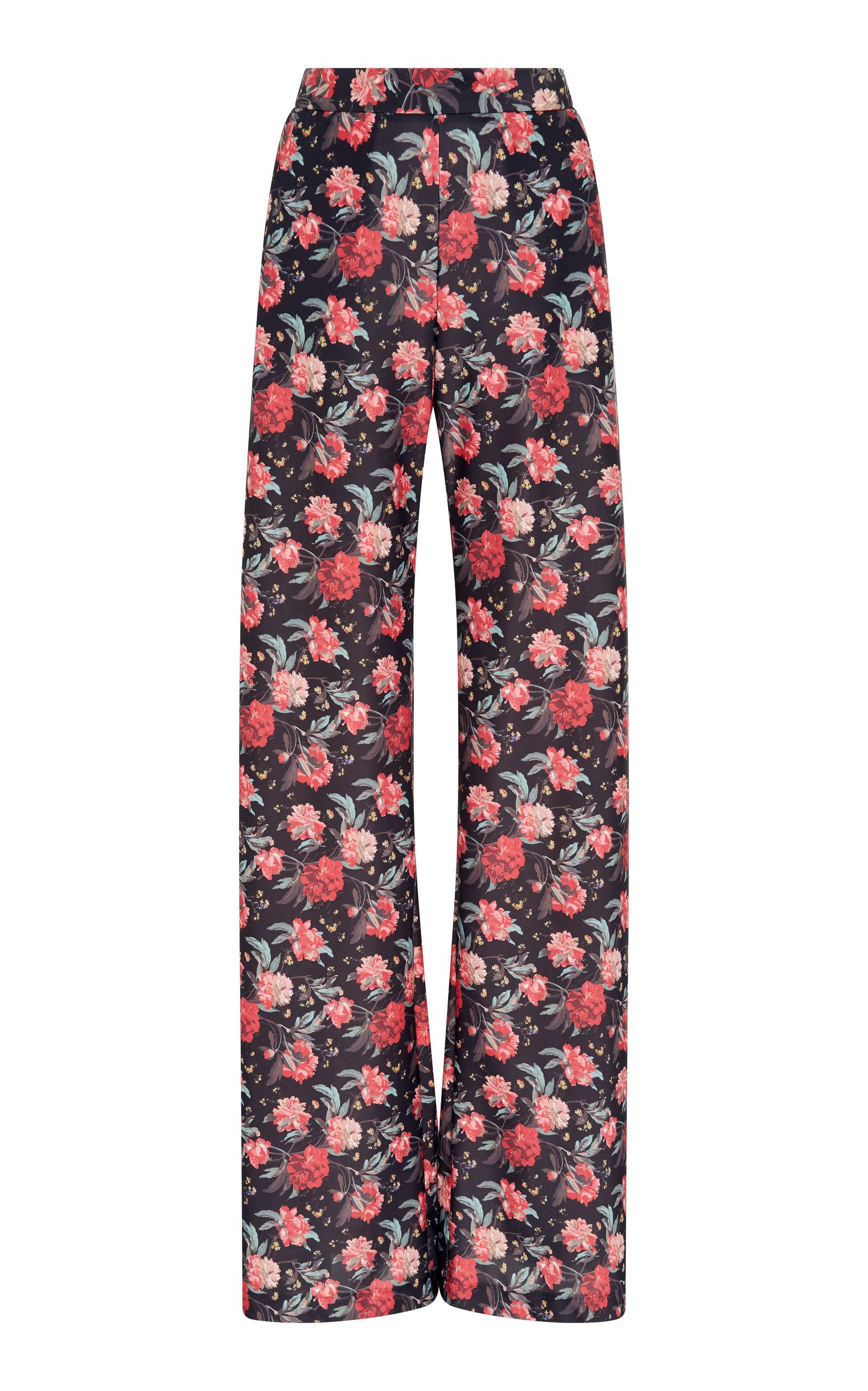 ALCOOLIQUE Amelianna Floral Pant