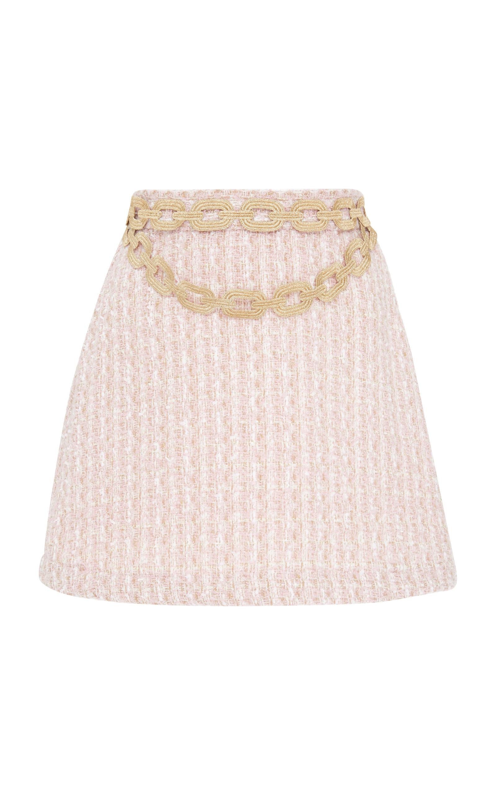 ALCOOLIQUE Gabry Mini Skirt in Pink