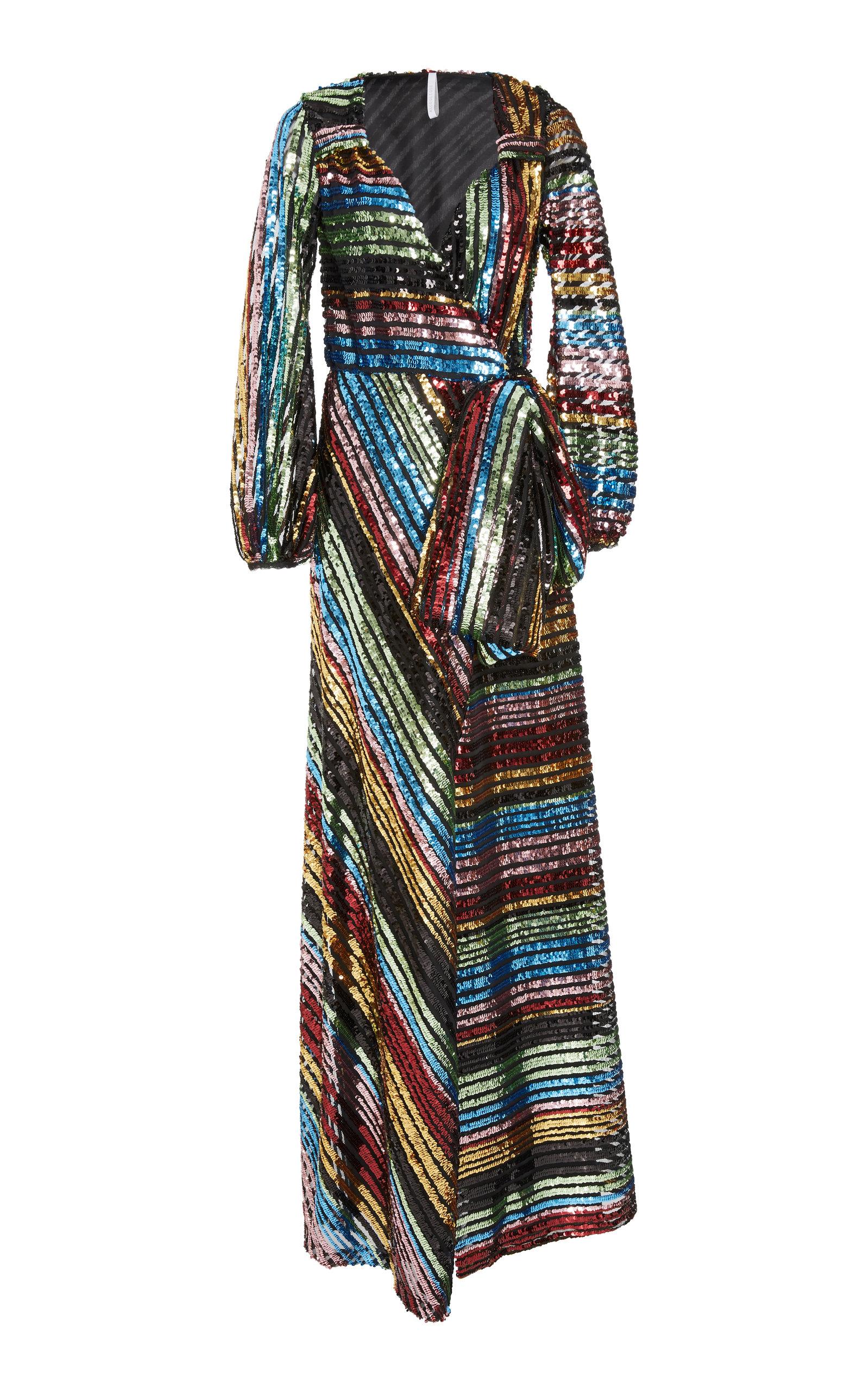 Frozen Margaritas Maxi Sequin Gown by Alcoolique | Moda Operandi