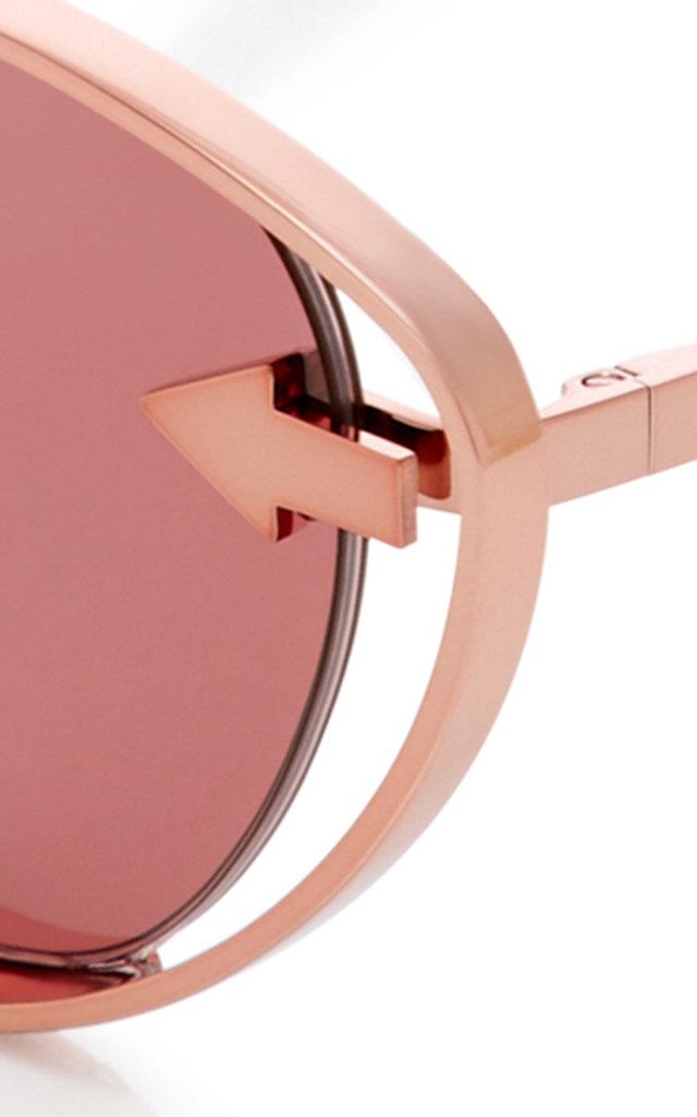 2dd1ec184fb Karen WalkerKissy Kissy Cat-Eye Sunglasses. CLOSE. Loading. Loading. Loading