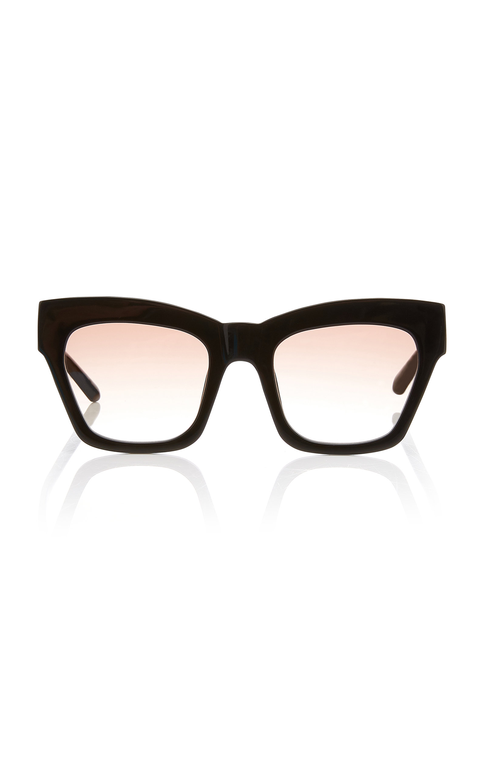 Karen Walker TREASURE SQUARE ACETATE SUNGLASSES