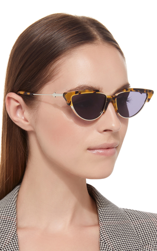 f7113425fa1 Karen WalkerTropics Cat Eye Acetate Sunglasses