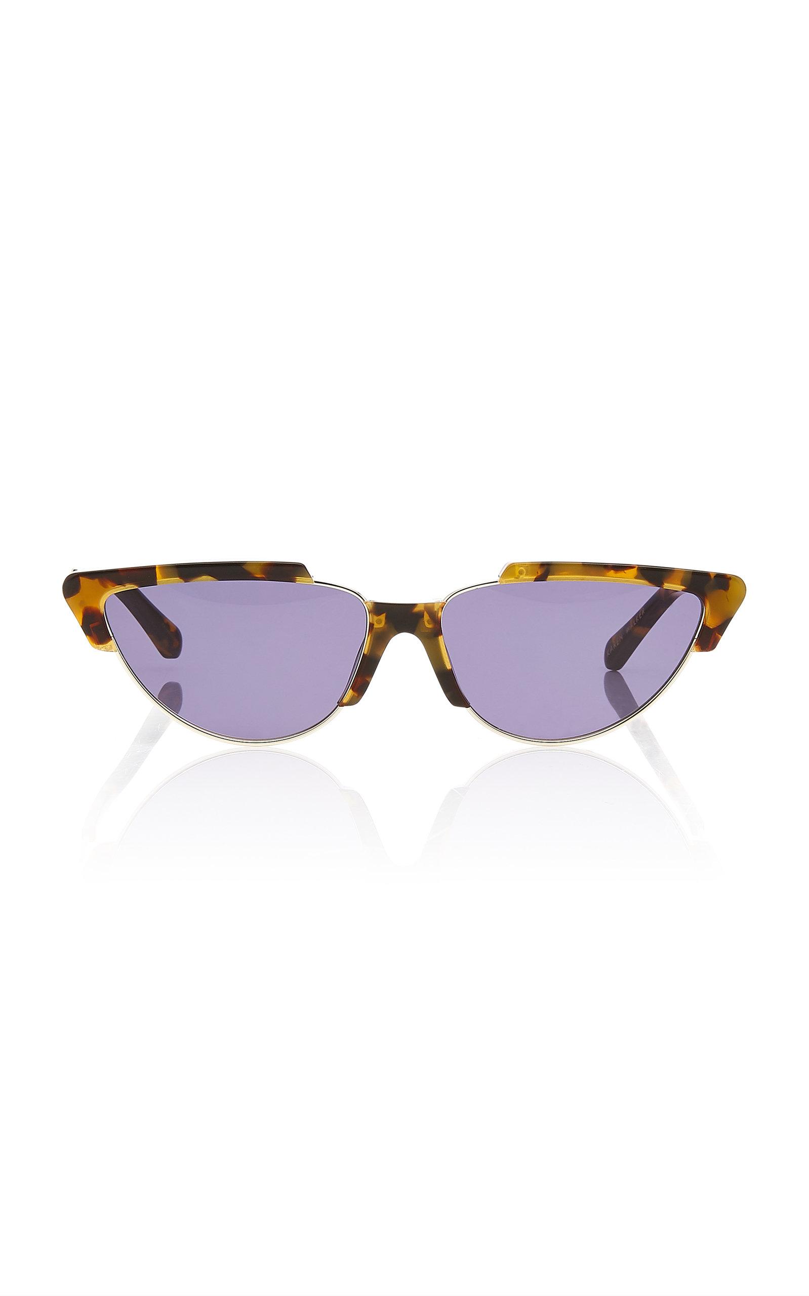 a9b35e02370d Tropics Cat Eye Acetate Sunglasses by Karen Walker | Moda Operandi