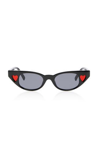 ADAM SELMAN X LE SPECS | Adam Selman X Le Specs The Heartbreaker Cat-Eye Sunglasses | Goxip