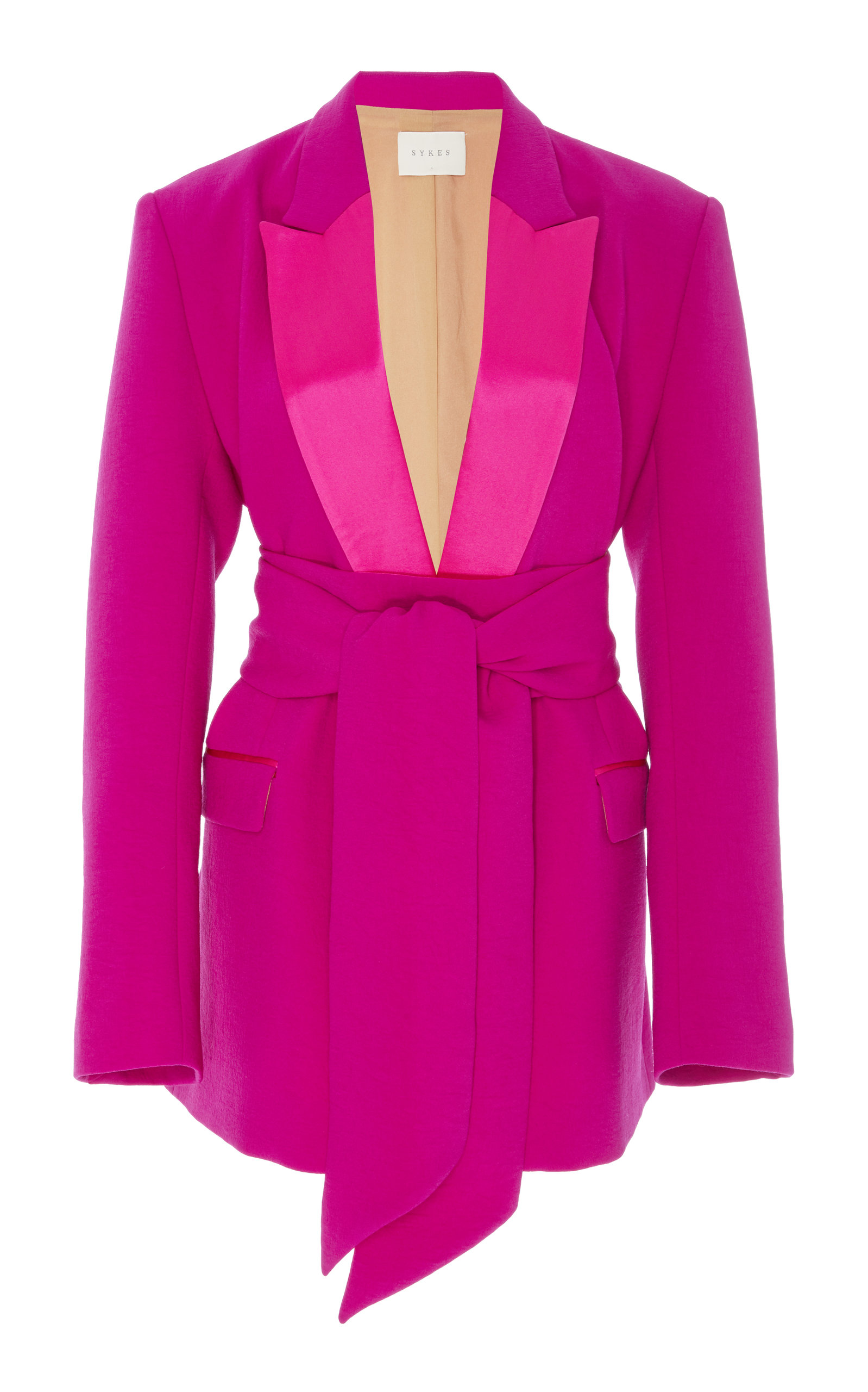 SYKES Cora Wrap Tux in Pink