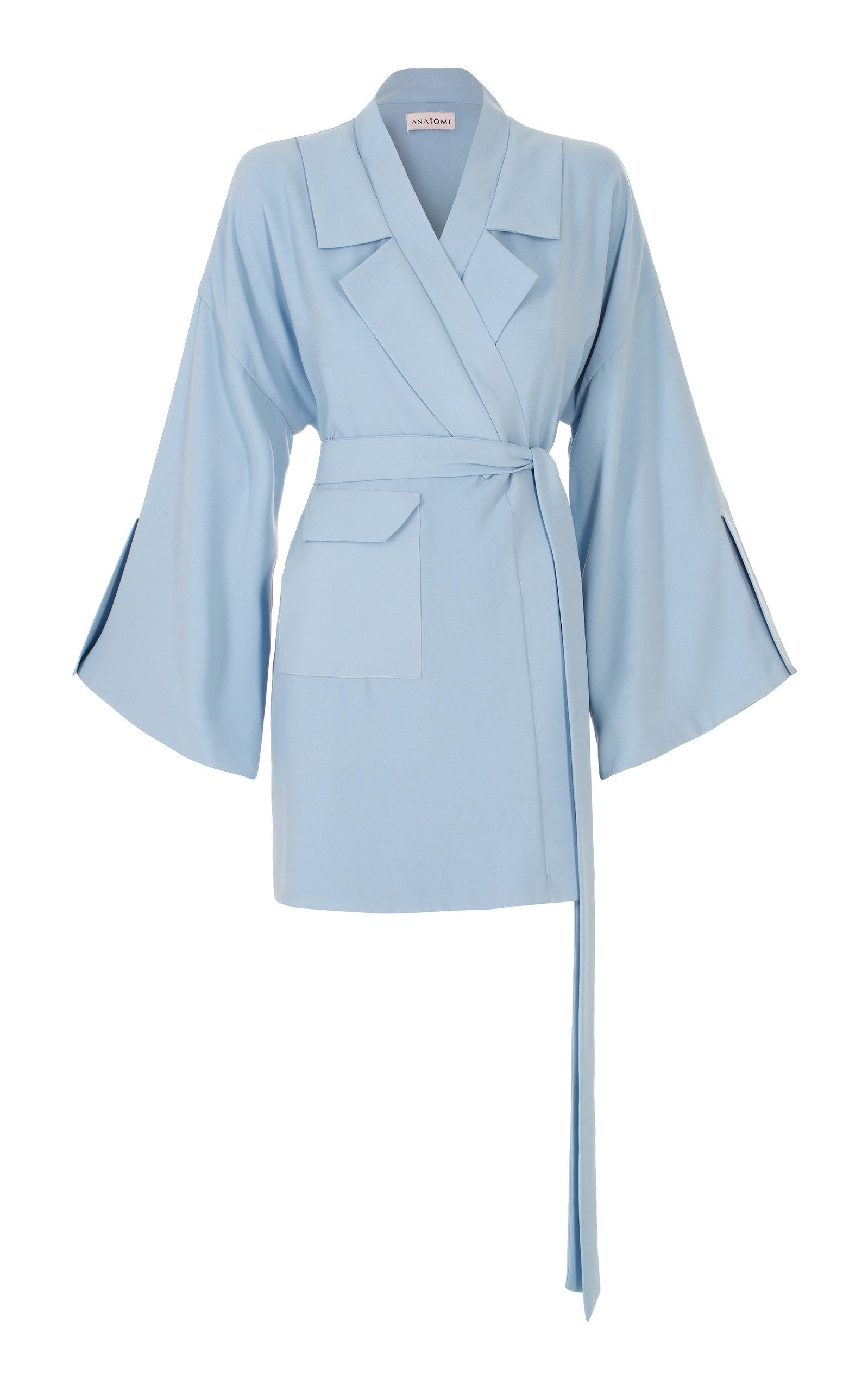 ANATOMI Terrain Wrap Jacket in Blue