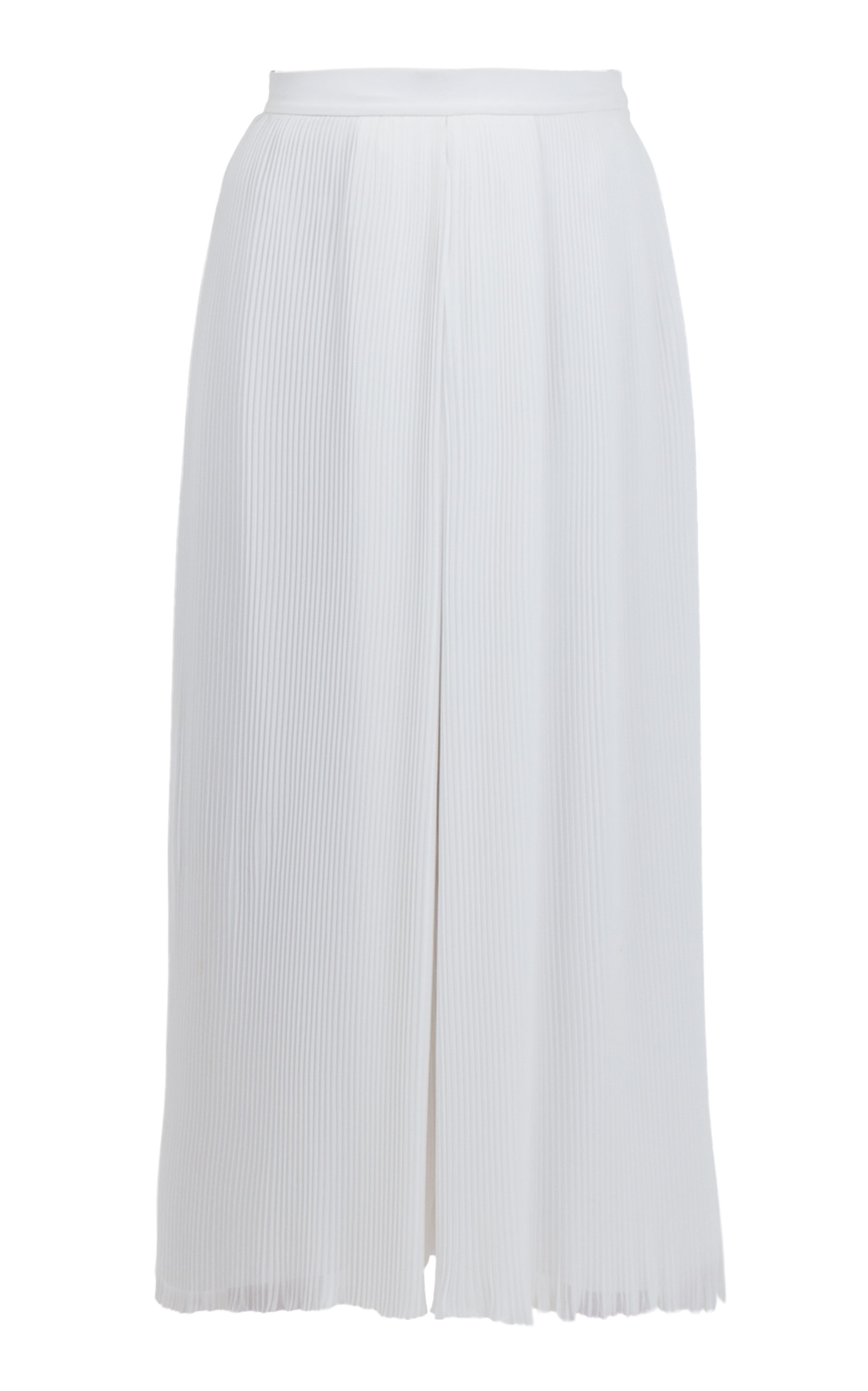 ANATOMI Dune Pleated Chiffon Square Pants in White