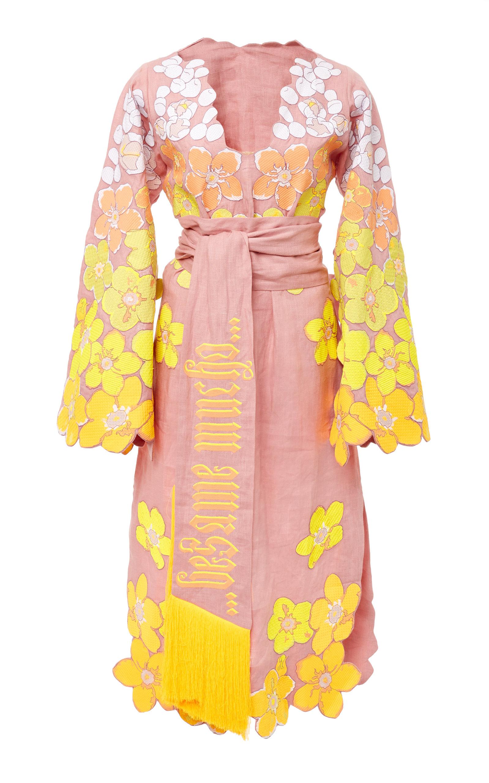 Linen dress besame mucho