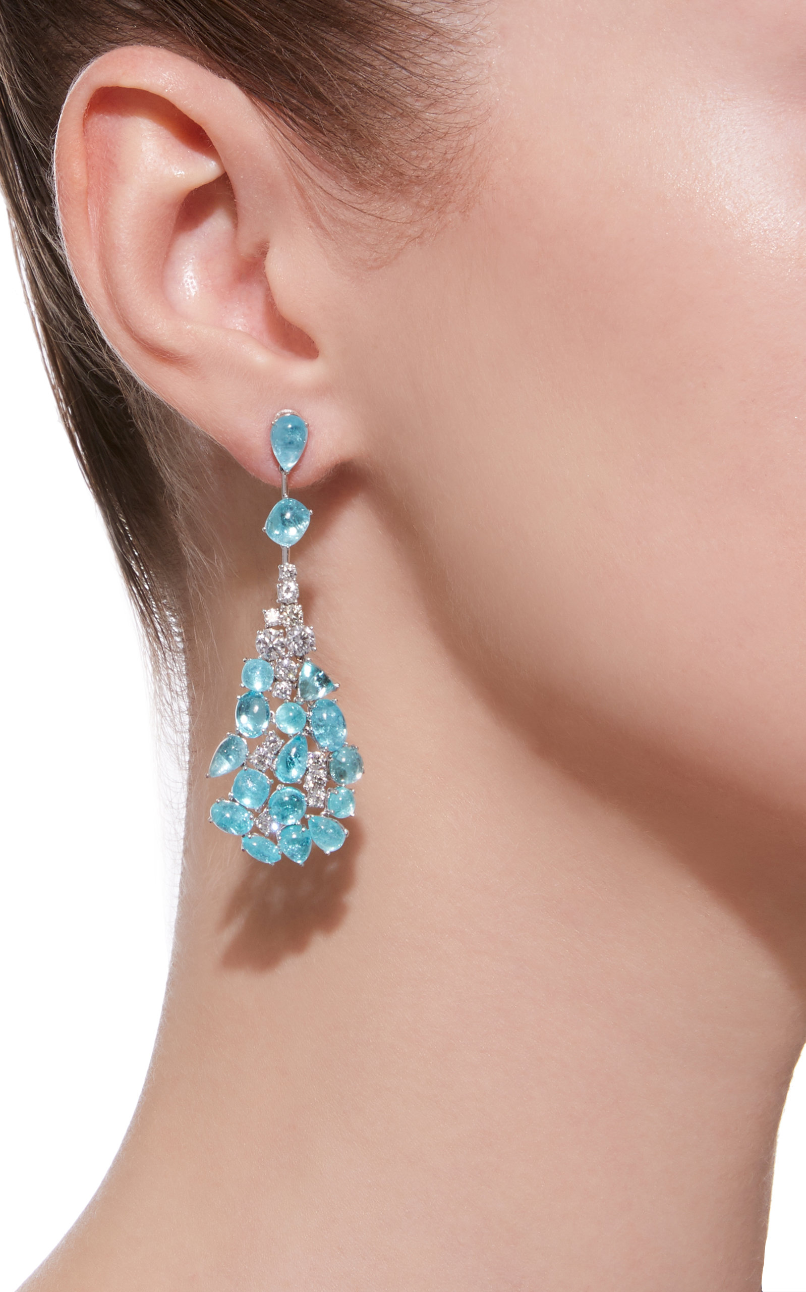 shaped diamond single earrings oculus bronfman dana drop black back products pear turquoise