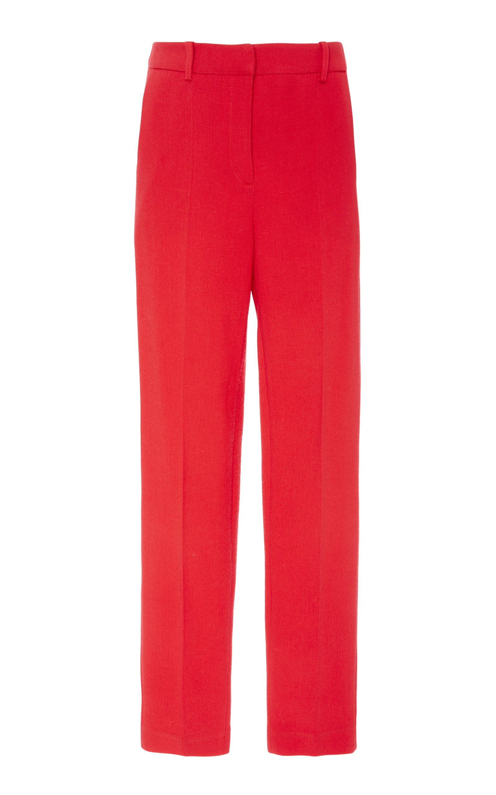 ALENA AKHMADULLINA Wool Trouser in Red