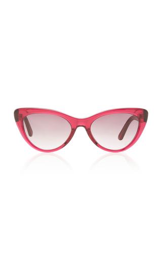 BALENCIAGA SUNGLASSES | Balenciaga Sunglasses Oversized Acetate Cat-Eye Sunglasses | Goxip