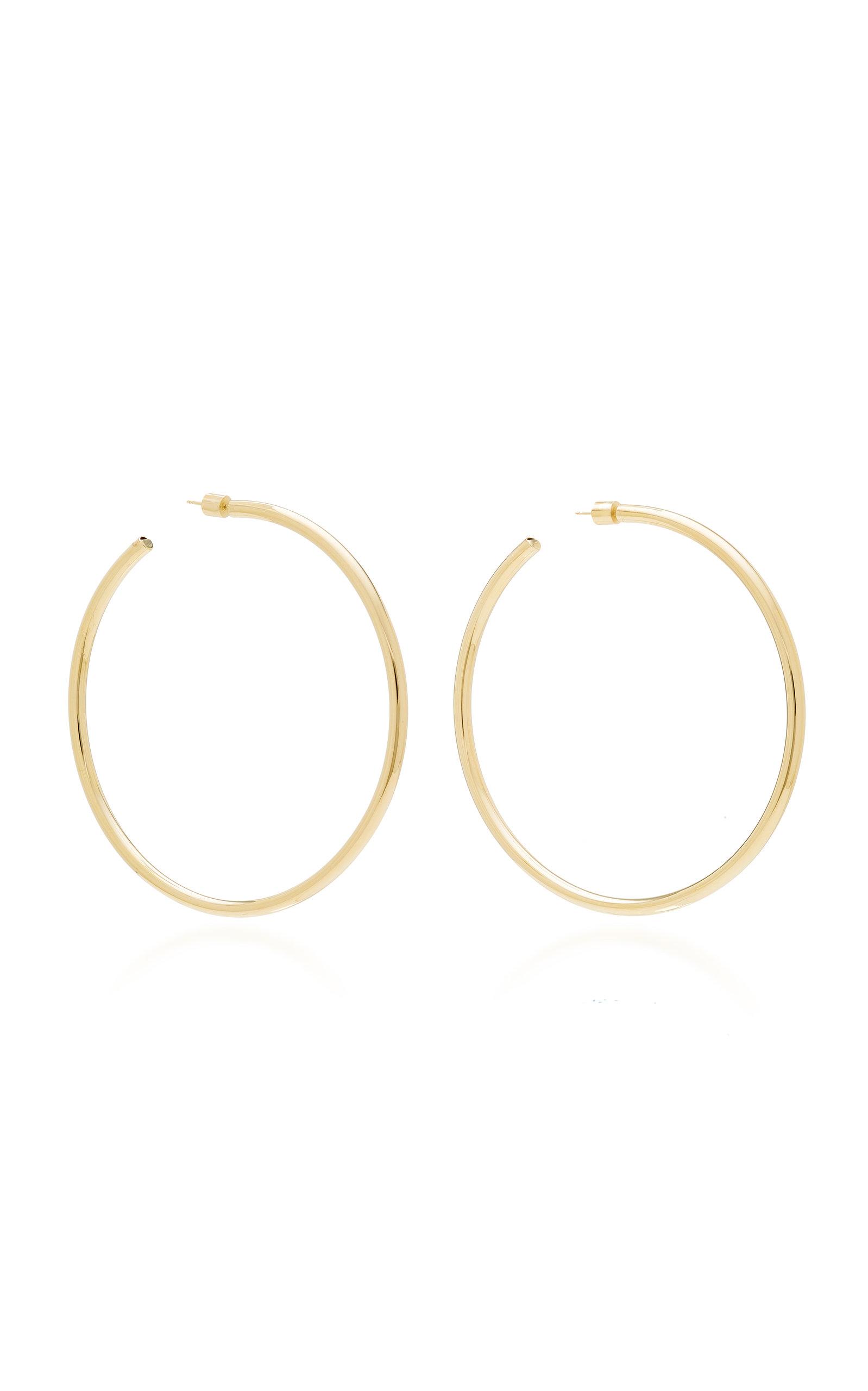 Lilly 10K Gold-Plated Hoop Earrings Jennifer Fisher wiQtAkHsj