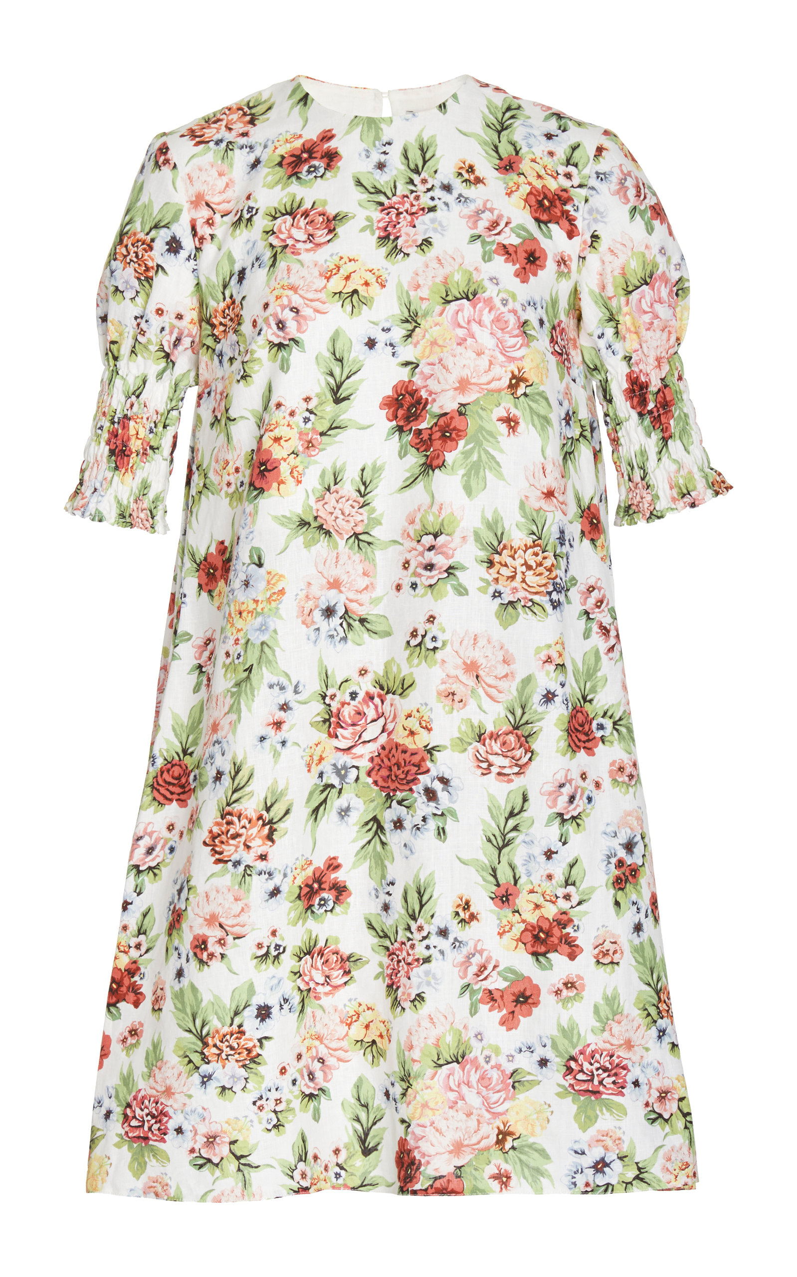 EMILIA WICKSTEAD M'O EXCLUSIVE FLORAL ELMA SHORT DRESS