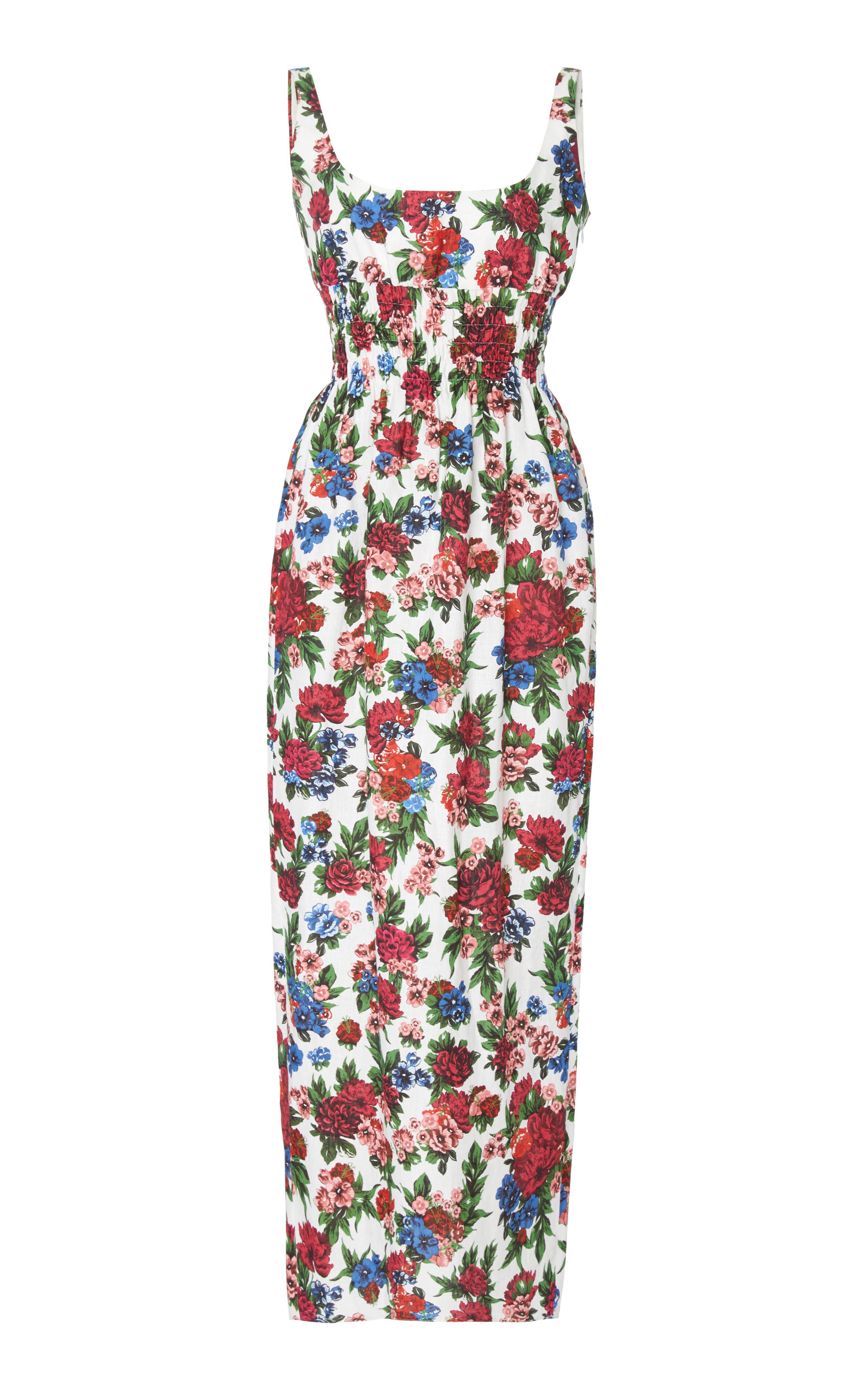 EMILIA WICKSTEAD M'O EXCLUSIVE MINDY FLORAL MAXI DRESS