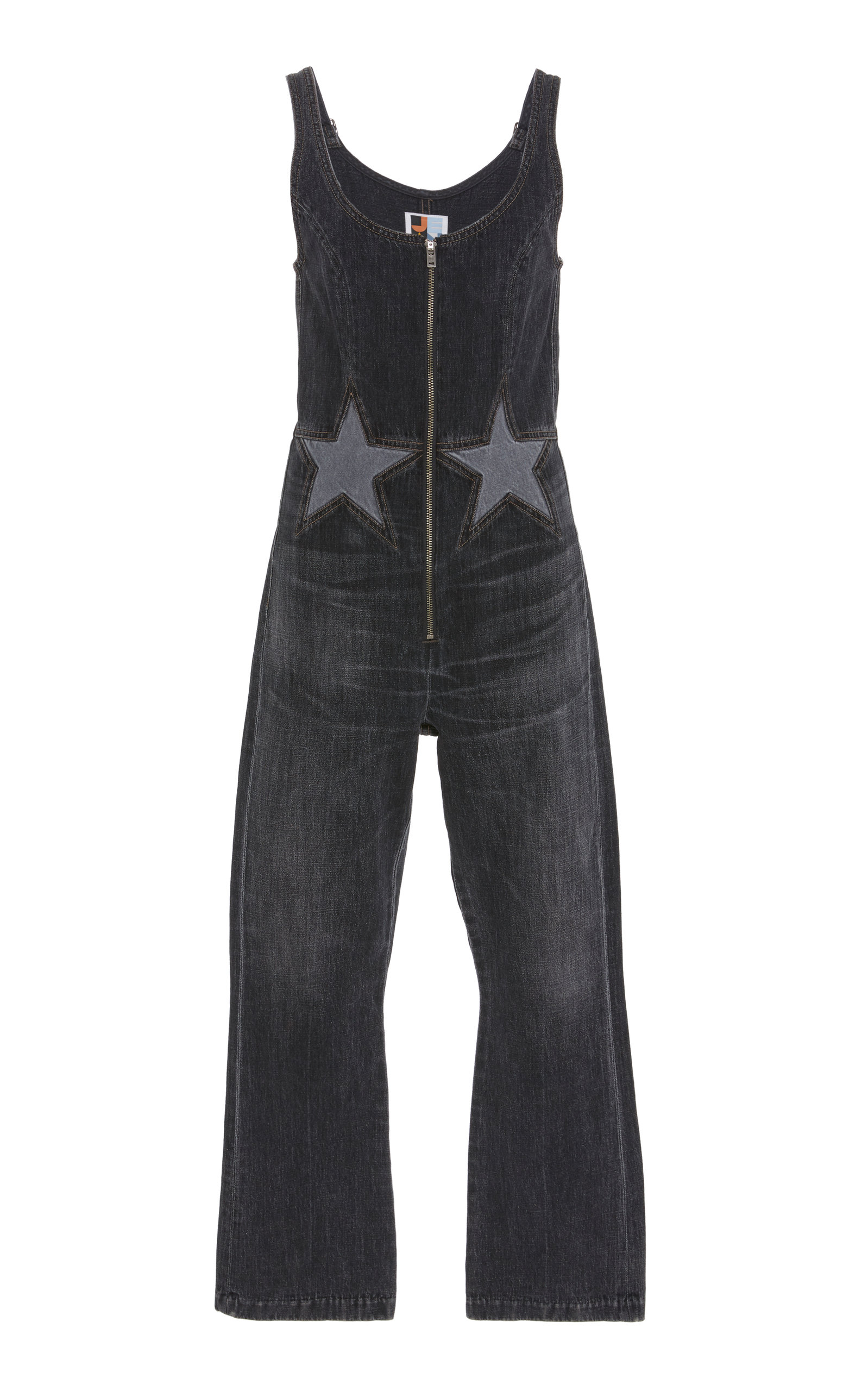 ab7bb91c35d Jean AtelierDenim Star Jumpsuit. CLOSE. Loading