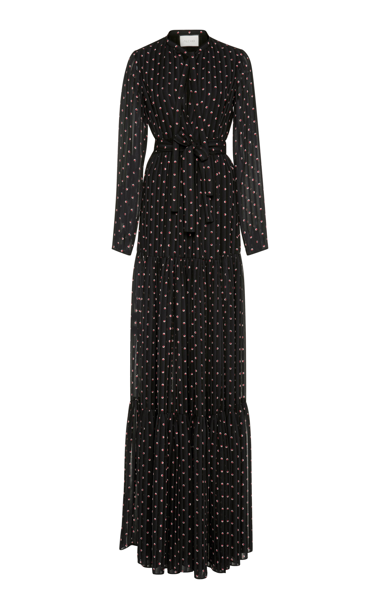 Alexi Marion Maxi Dre Black/Red, Navy