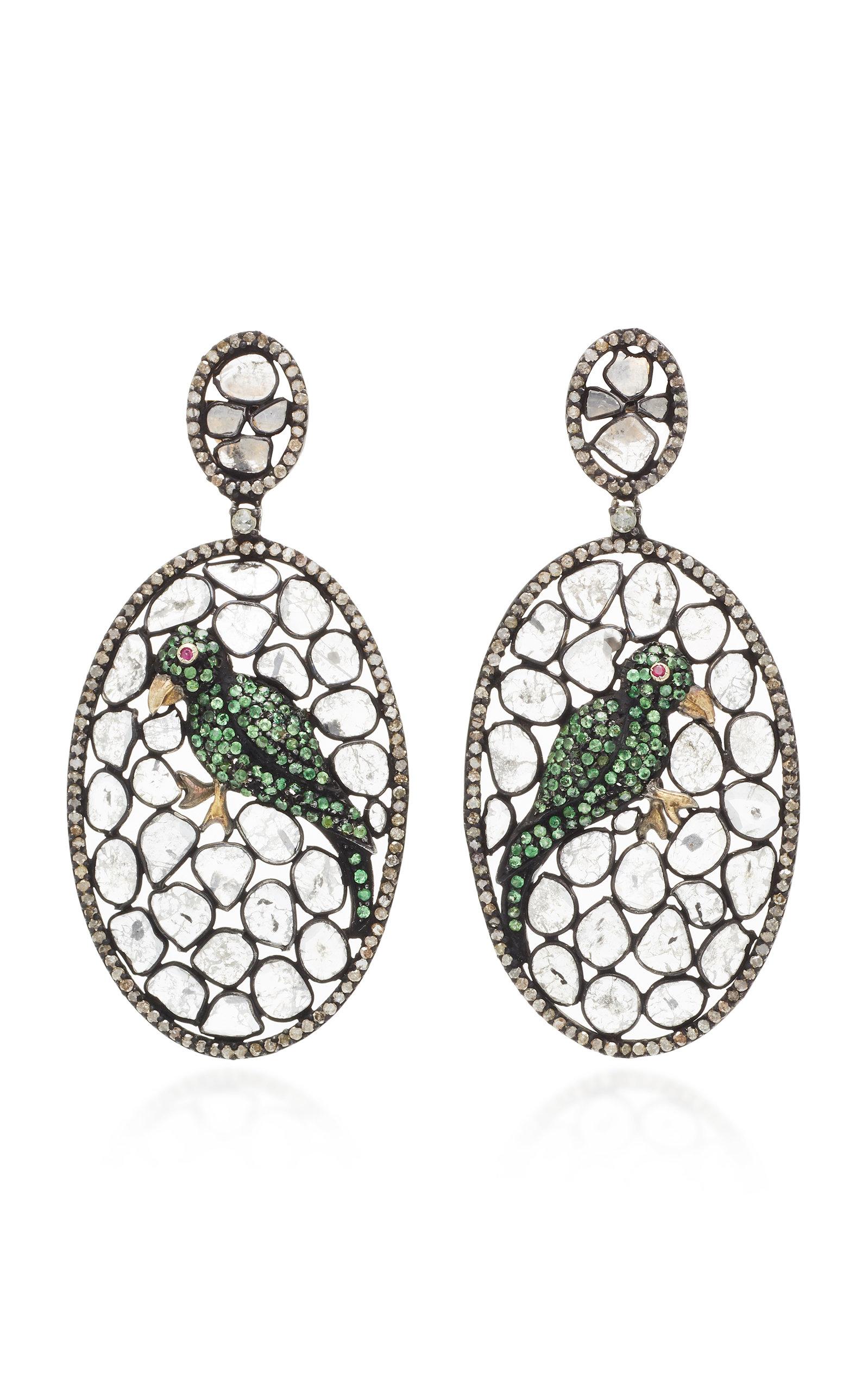14K Gold Multi-Stone Earrings Amrapali q6IwyQix7