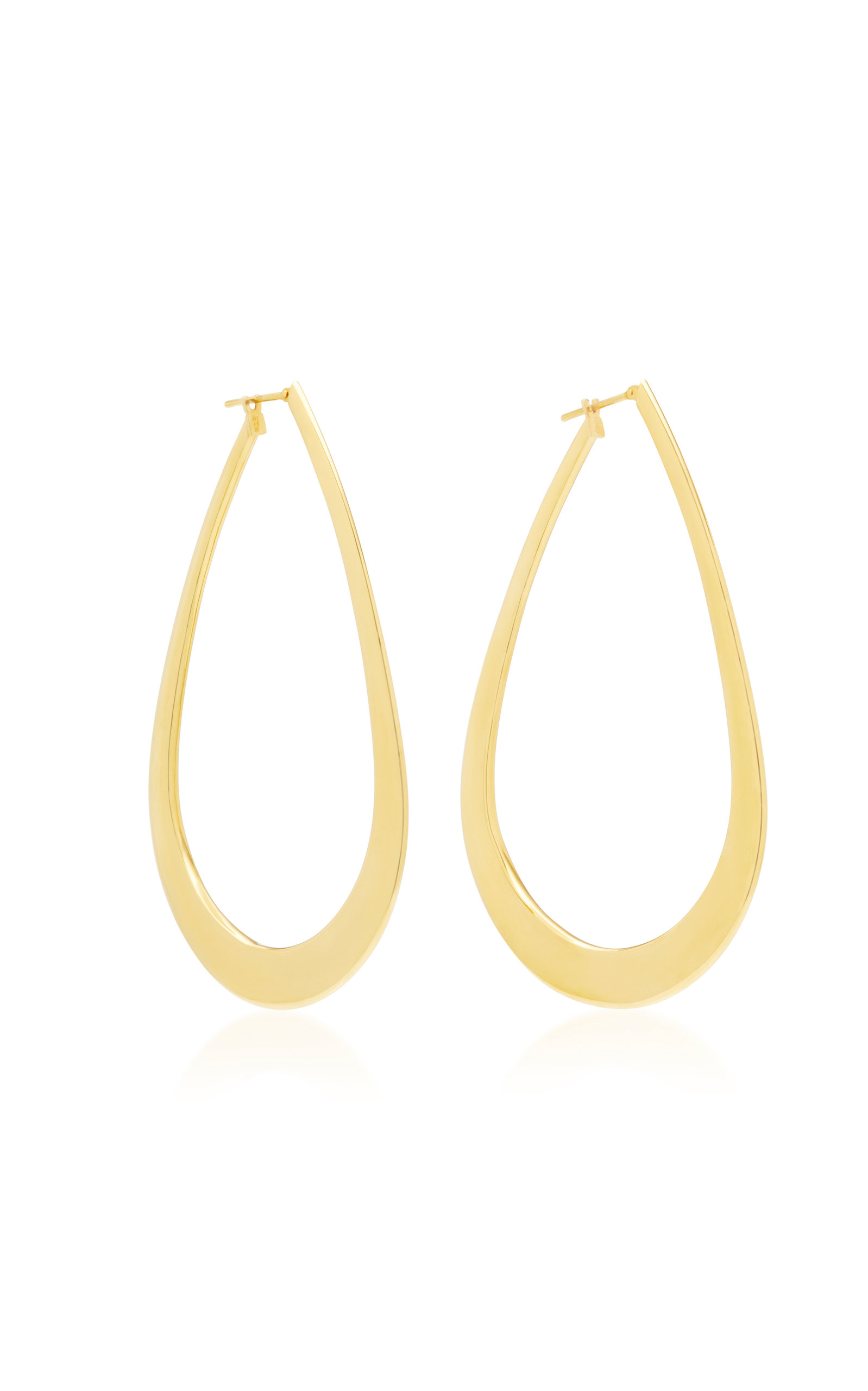 SIDNEY GARBER 18K Gold Hoop Earrings
