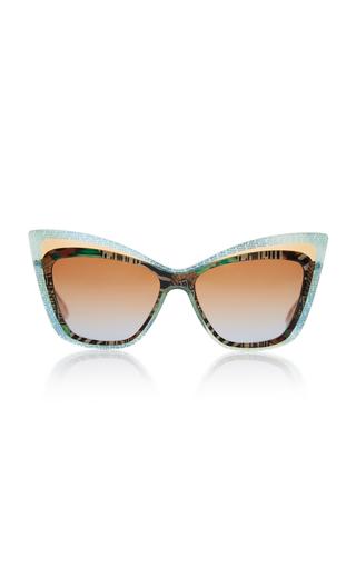 CHRISTIAN ROTH | Christian Roth Rock 'N Roth Oversized Cat-Eye Sunglasses | Goxip