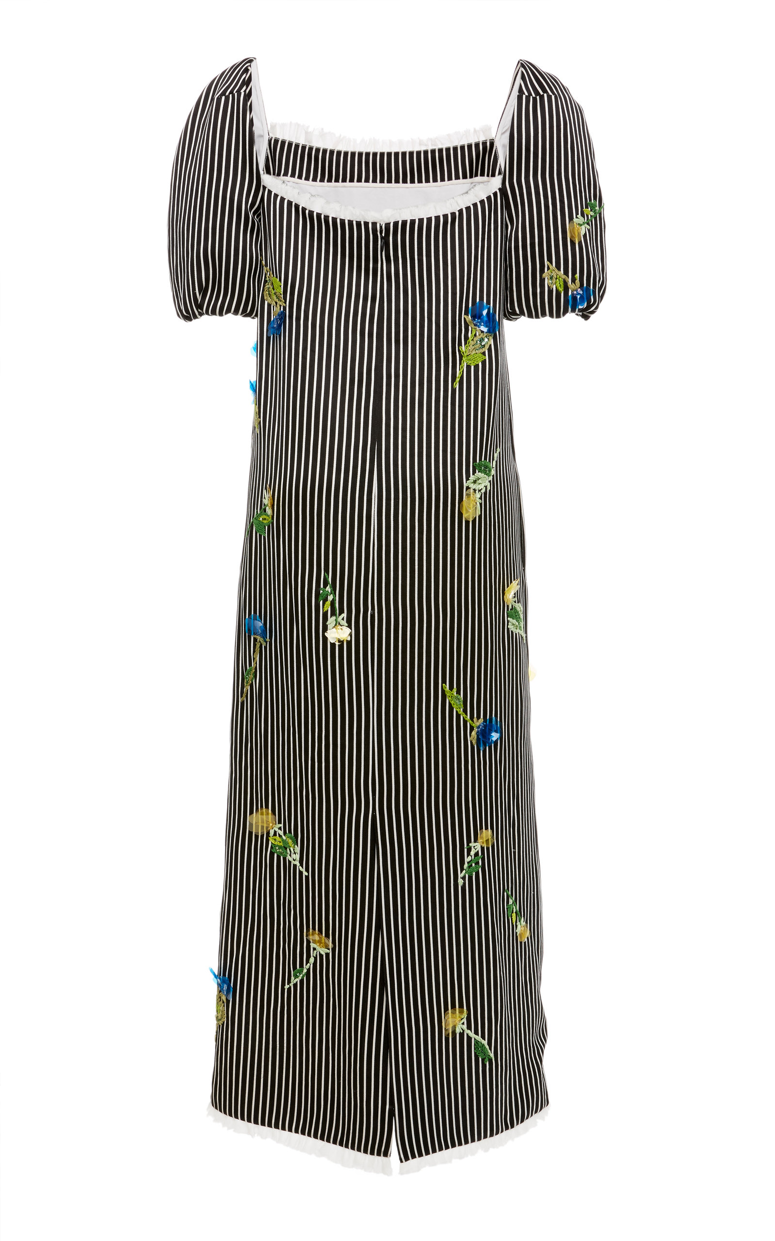 3b40b0bfa6 Striped Embroidered Dress