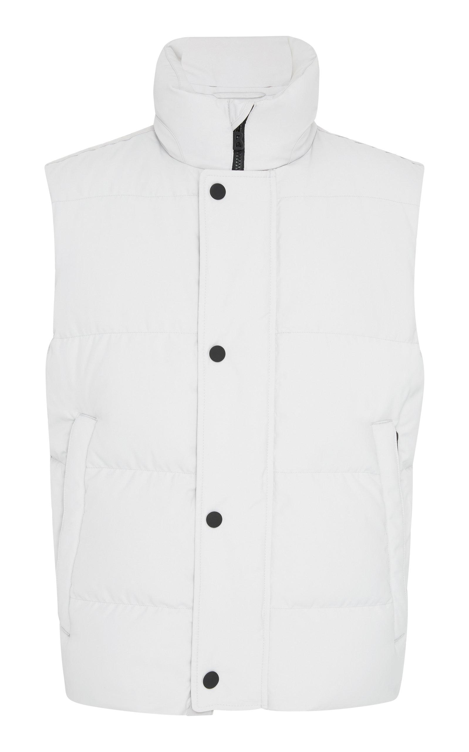 BOGNER X WHITE CUBE Loris Duck Down Puffer Vest in Grey