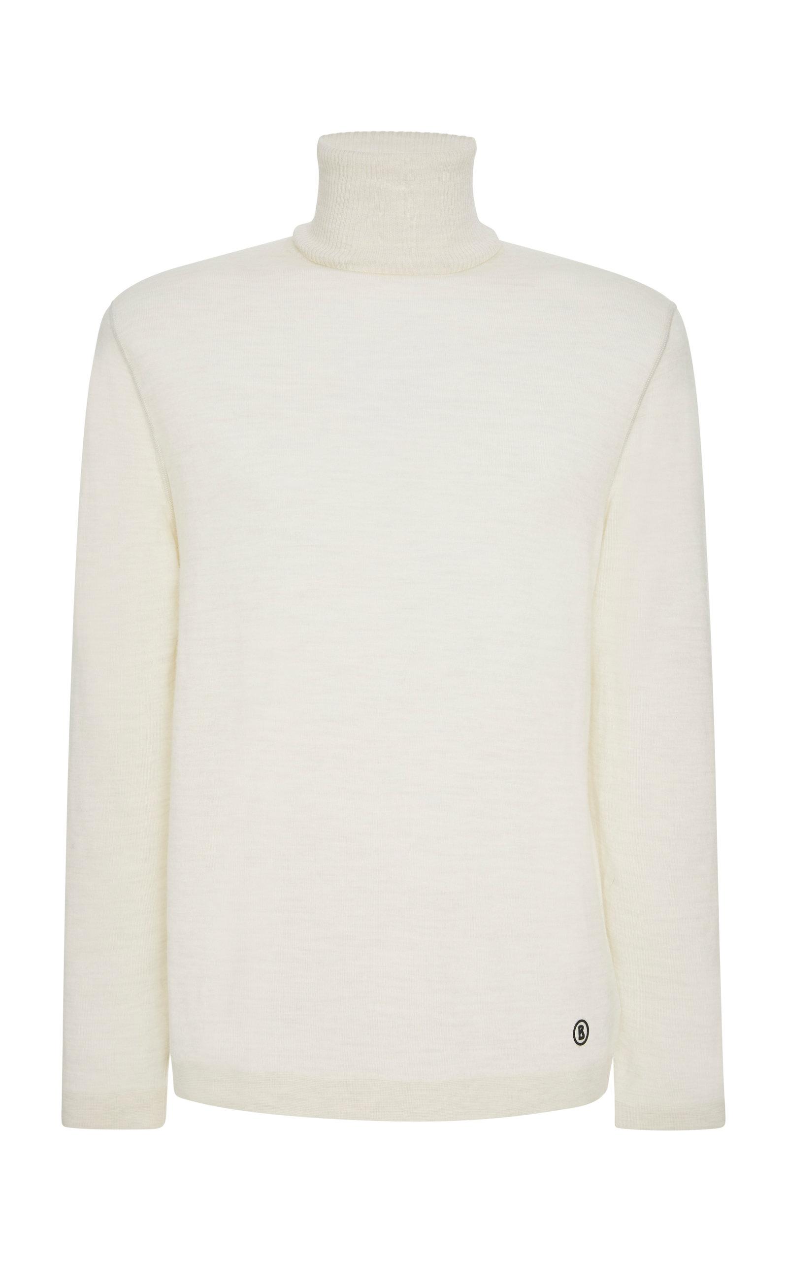 BOGNER X WHITE CUBE Erik Wool Turtleneck Sweater in White