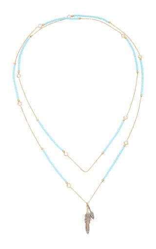 Laboratoire Collier Griffe Diamant Bleu Nickho Rey VaEEkmv