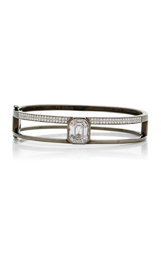 AS29 | AS29 Small 15.5cm Black Gold and Illusion Diamond Bangle | Goxip