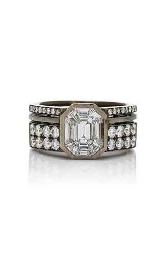 AS29 | AS29 Illusion Diamond & 18K Black Gold Ring | Goxip