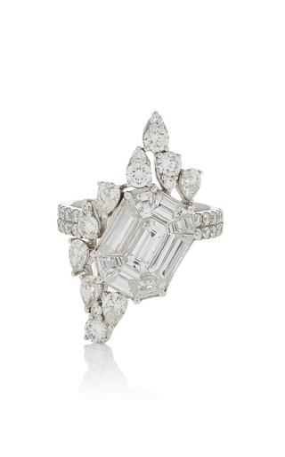 AS29 | AS29 Illusion Diamond & 18K White Gold Ring | Goxip