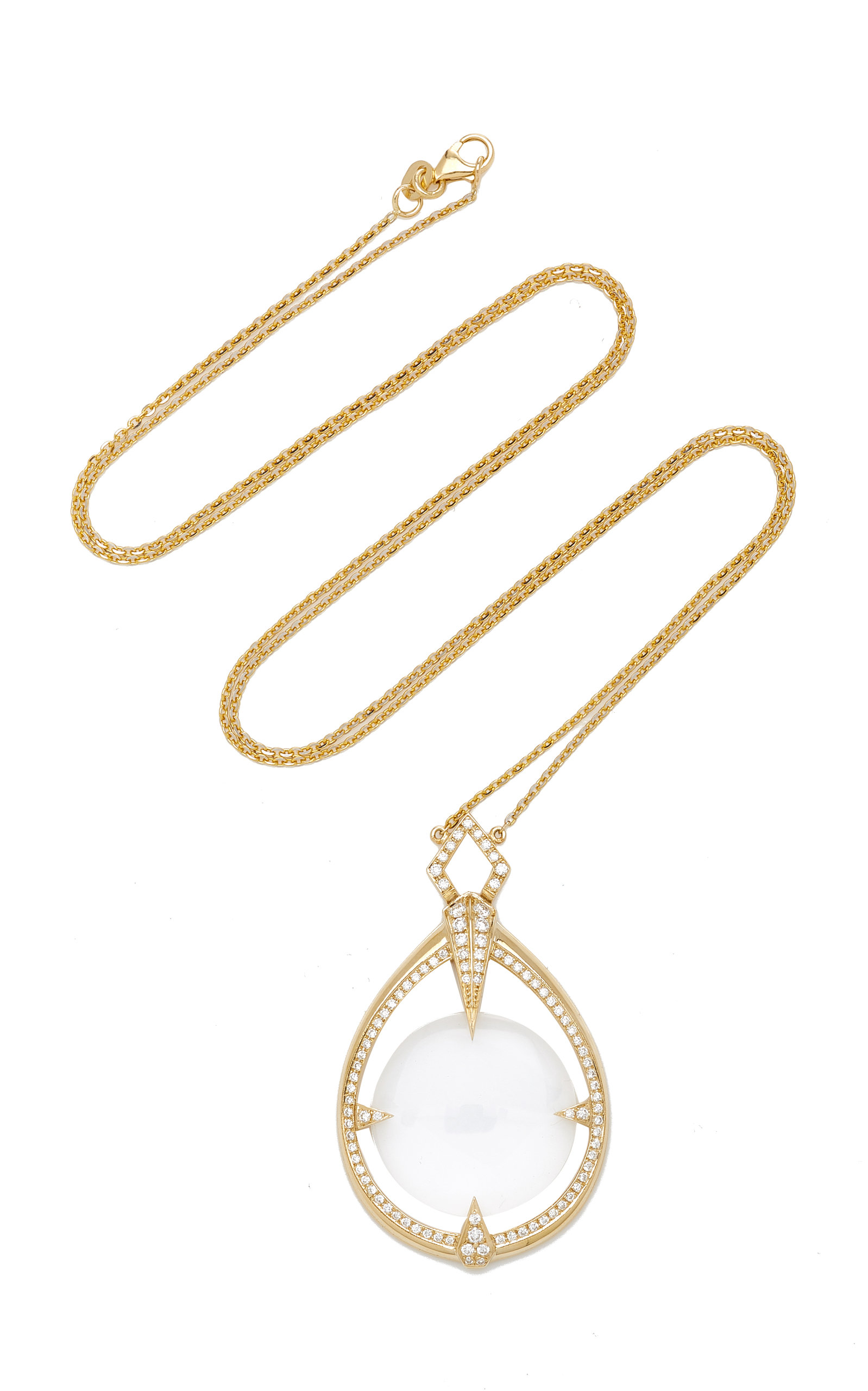 Hourglass pendant necklace by ele karela moda operandi loading mozeypictures Image collections