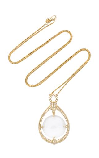ELE KARELA   Ele Karela Hourglass Pendant Necklace   Goxip