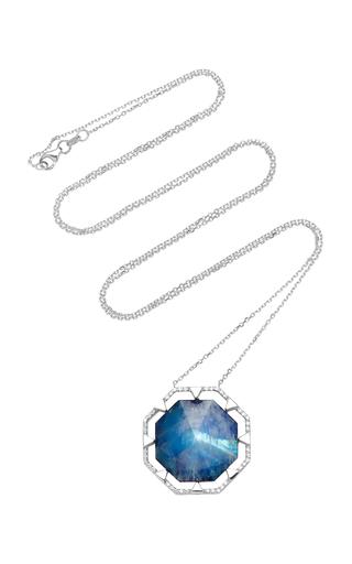 ELE KARELA   Ele Karela Moonstone Pendant Necklace   Goxip