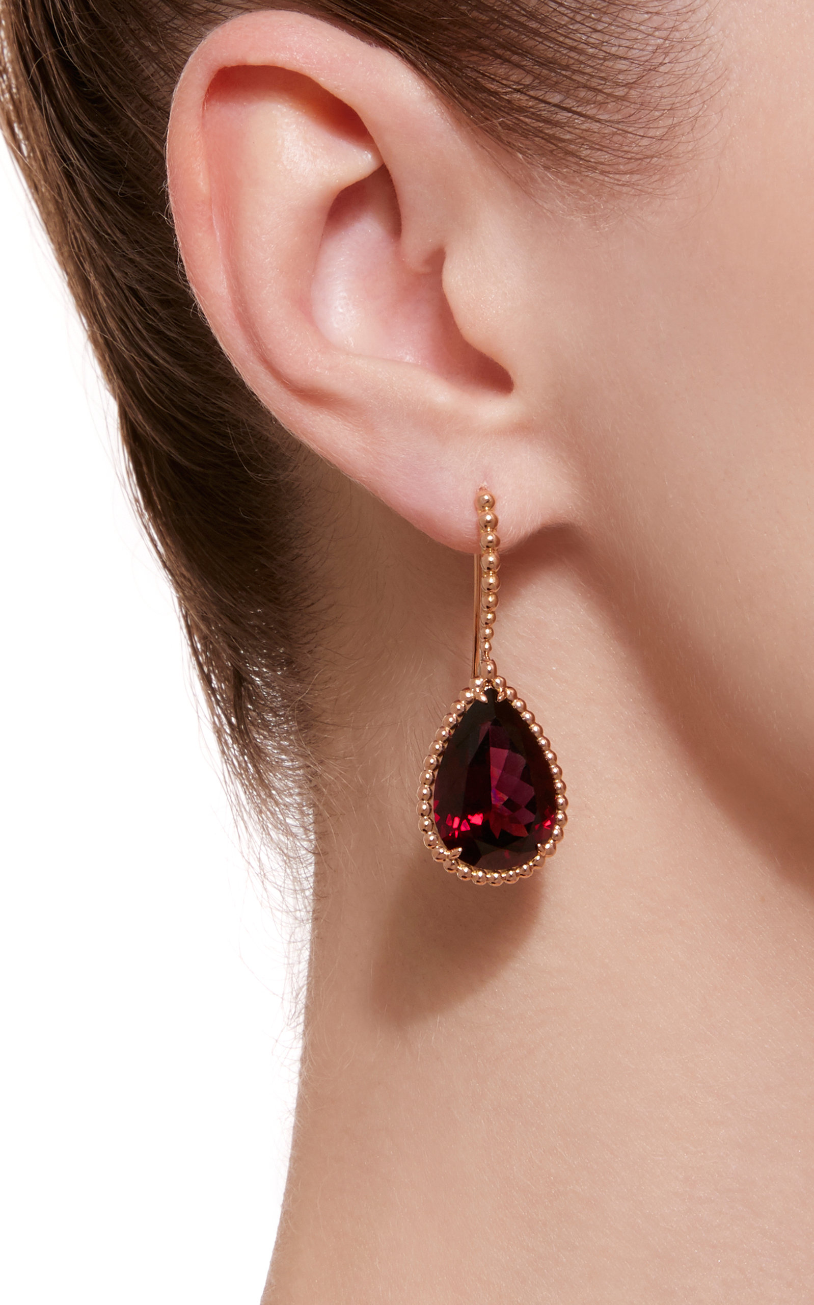 januarys gold birthstone january of silver cushion sterling on earrings s shape garnet yellow spotlight and facets drop rhodolite