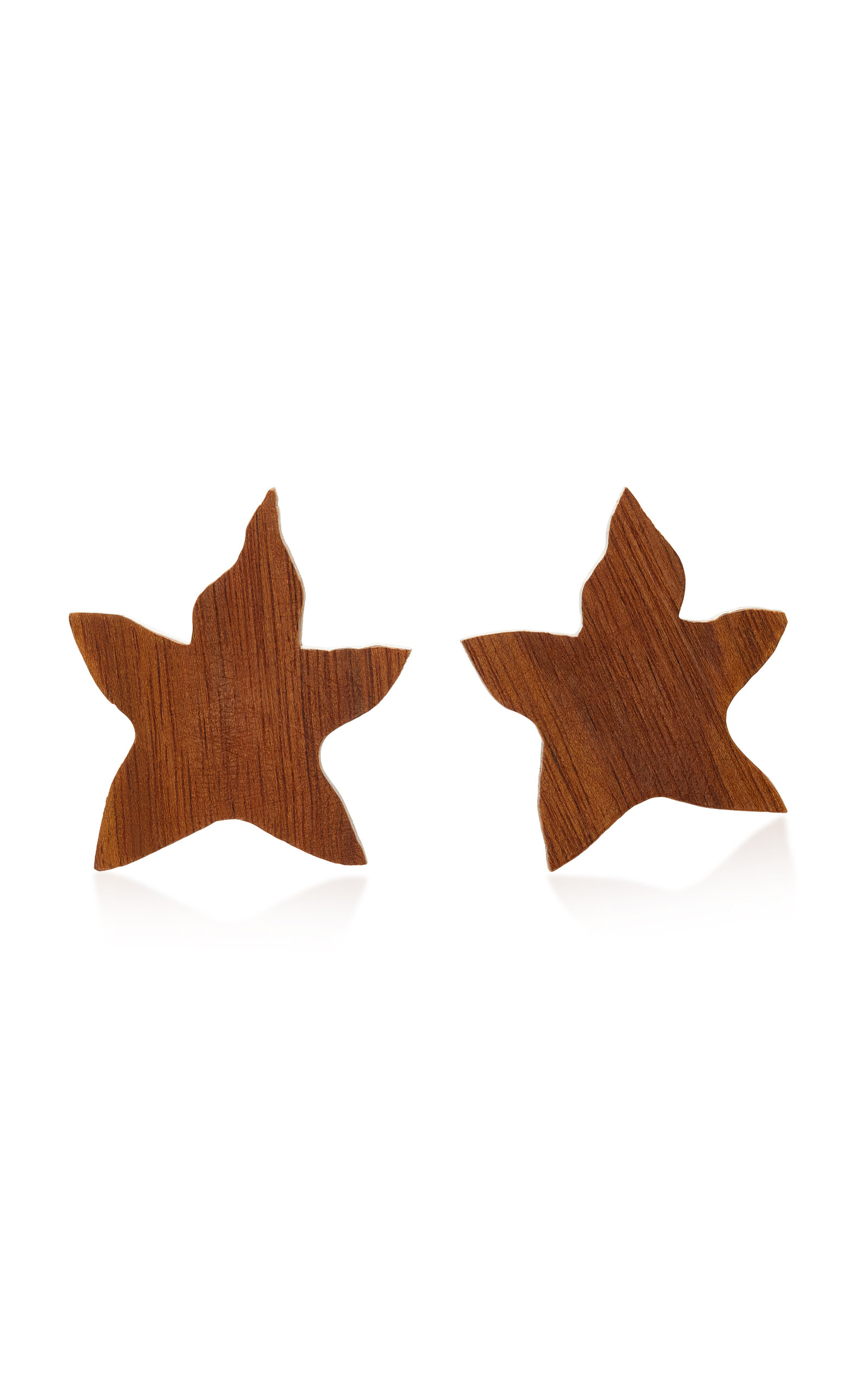 SOPHIE MONET THE LILY SHEDUA WOOD EARRINGS