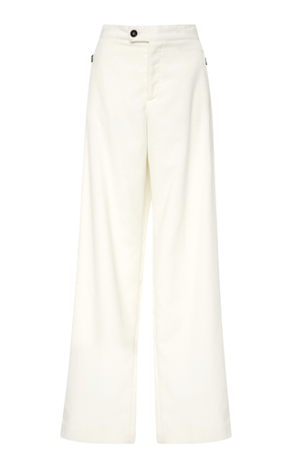 BOGNER X WHITE CUBE | Bogner x White Cube Ylvi Cotton Wide Leg Pants | Goxip