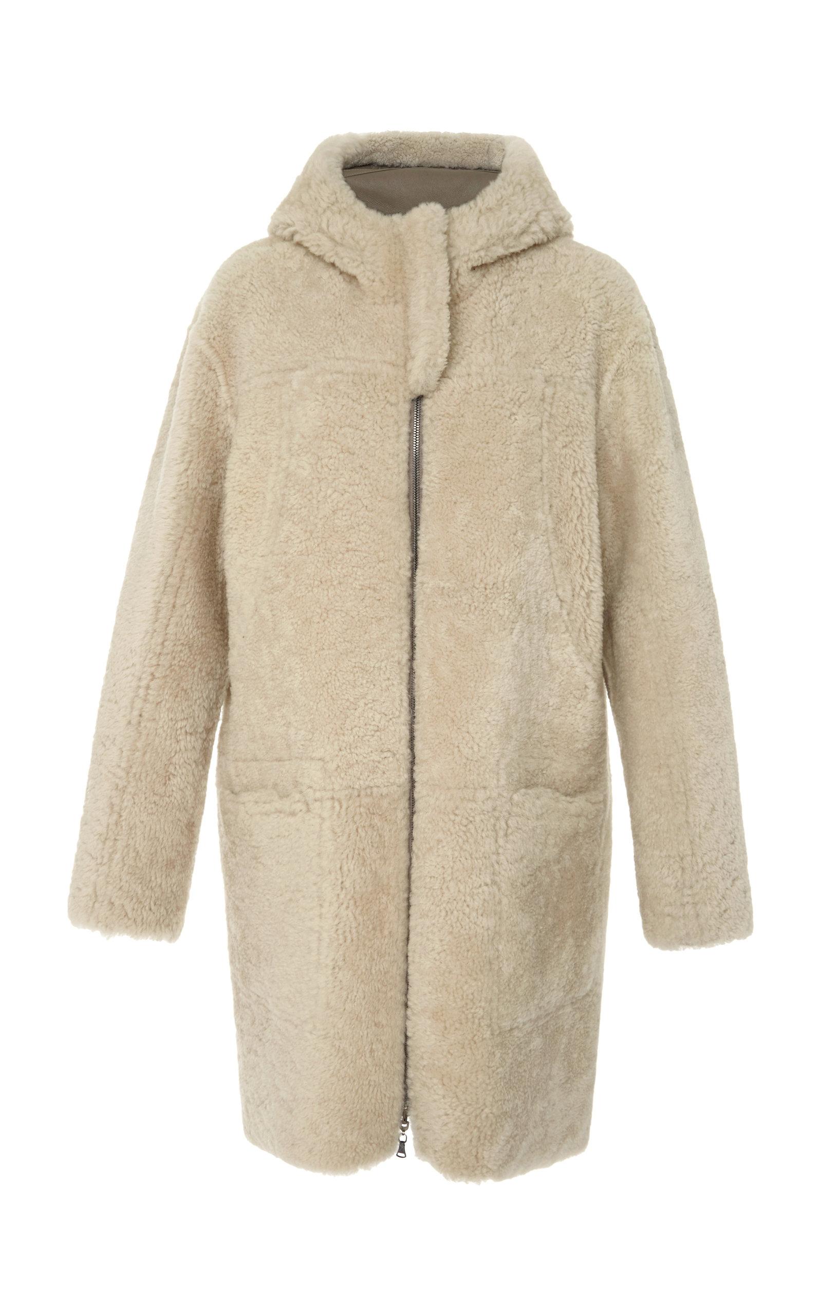 d30841358f7 BOGNER X WHITE CUBE Noa-L Shearling And Lambskin Reversible Coat in Brown
