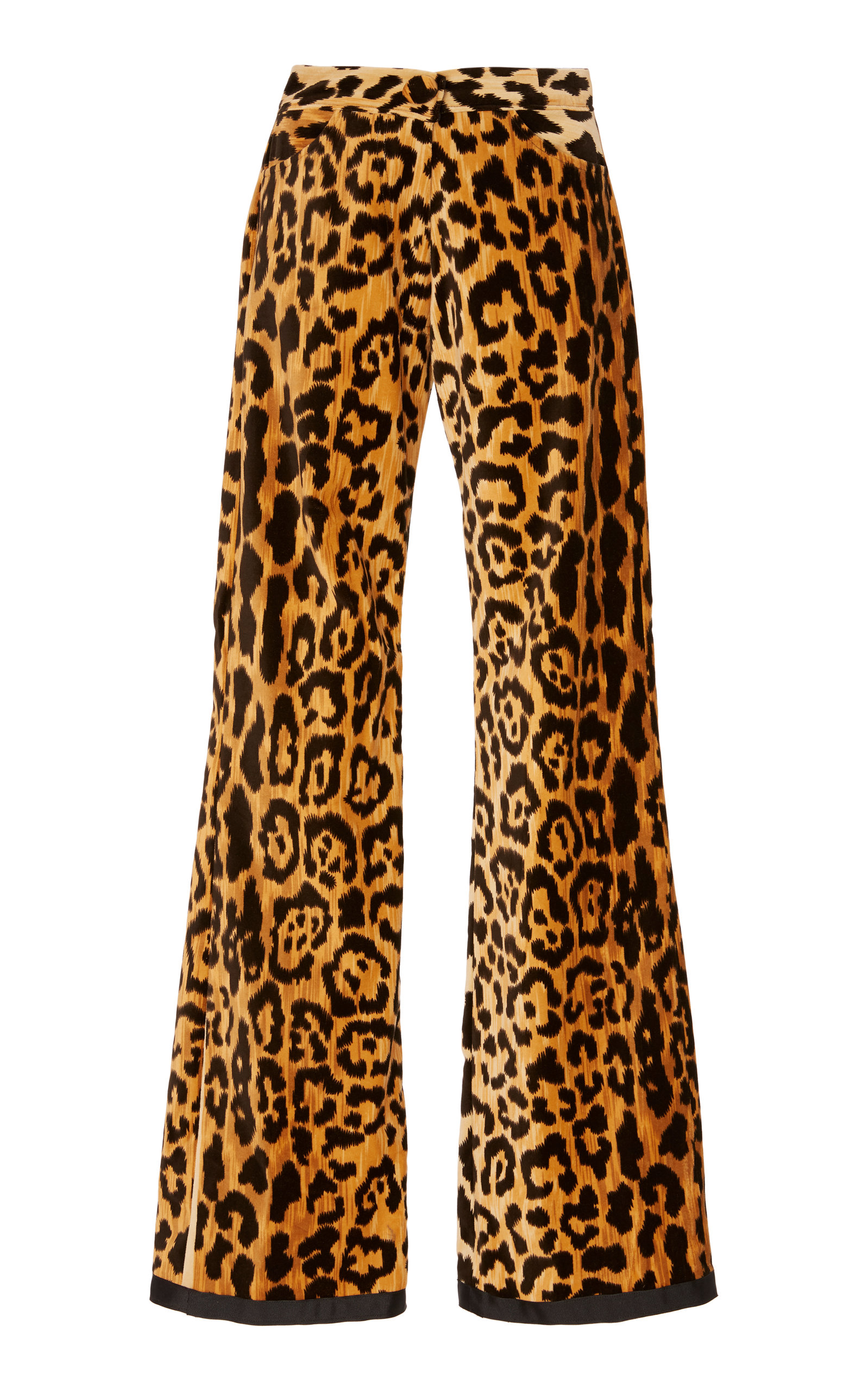 ALIX OF BOHEMIA Limited Edition Jerry Velvet Leopard Jeans in Multi