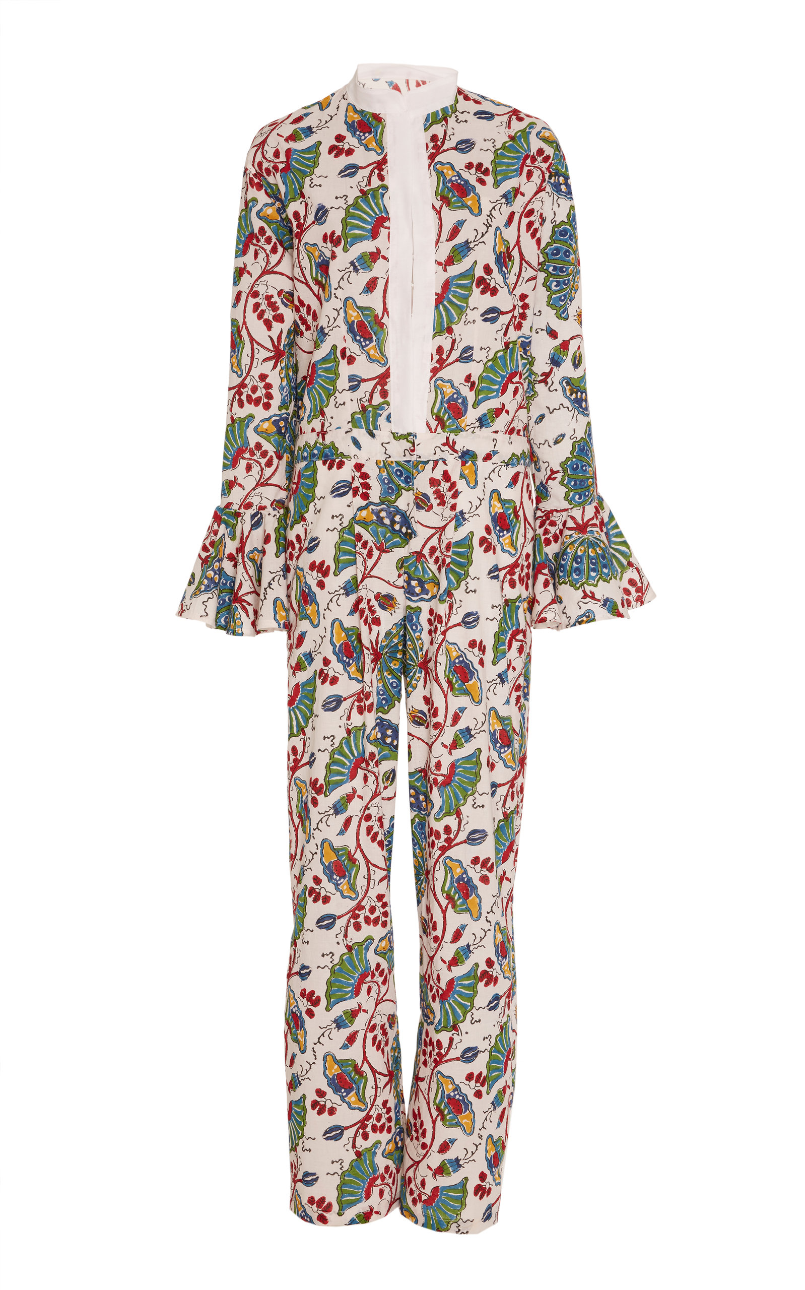 ALIX OF BOHEMIA Limited Edition India Block Print Jumpsuit