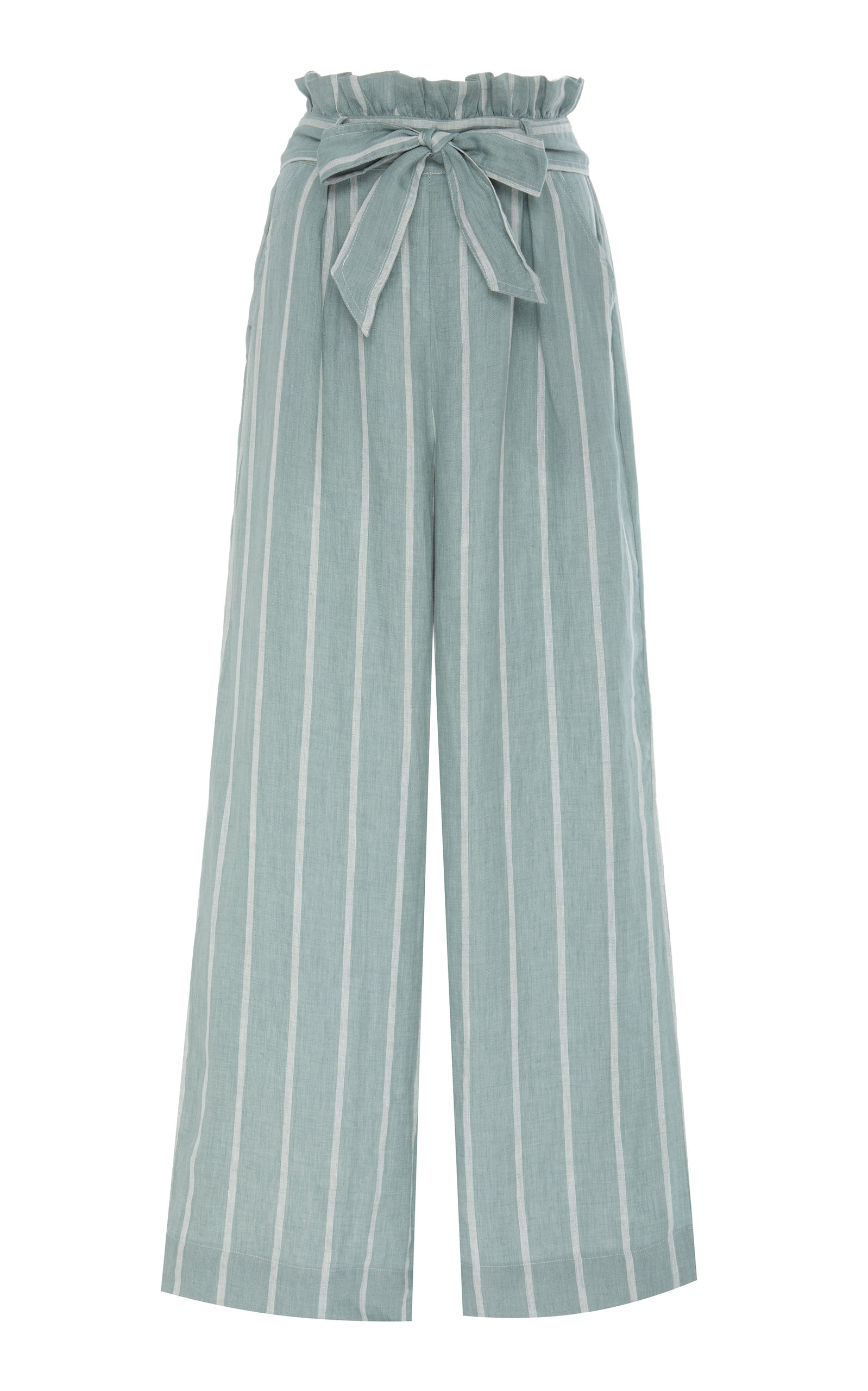 SUBOO Horizon Wide Leg Pants in Blue
