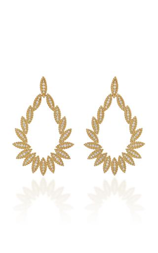 CARLA AMORIM | Carla Amorim Chama Earrings | Goxip